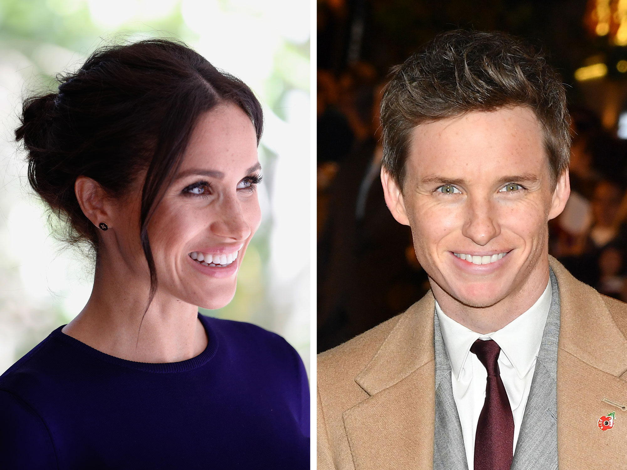 Meghan Markle and Eddie Redmayne