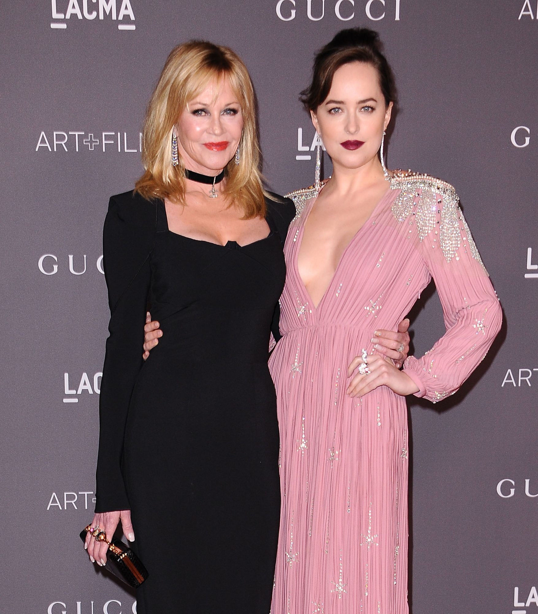 Melanie Griffith reveals she 'adores' daughter Dakota Johnson's boyfriend Chris Martin