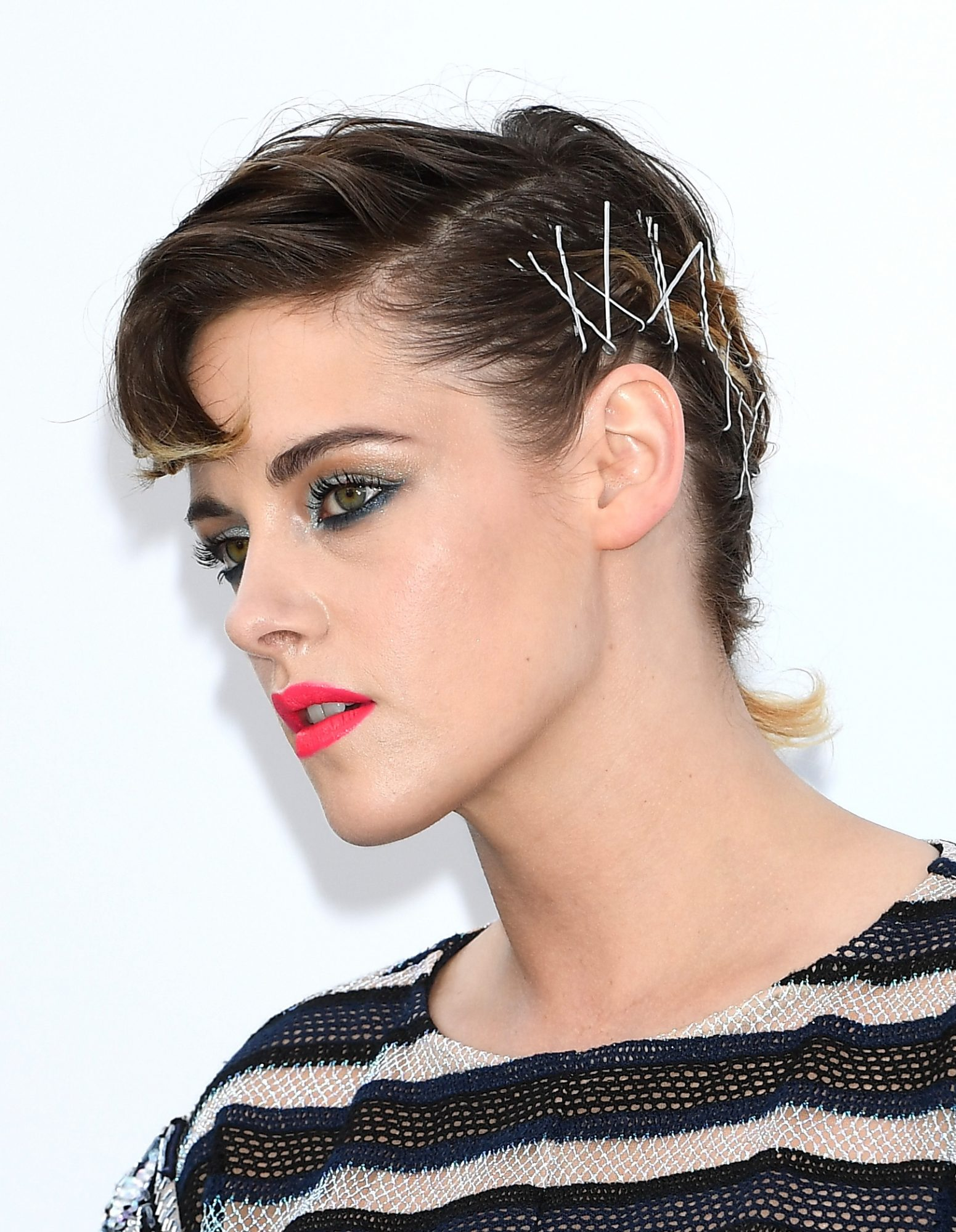 Every Bobby Pin You've Ever Lost Can Be Found inKristen Stewart's Pretty Hairdo