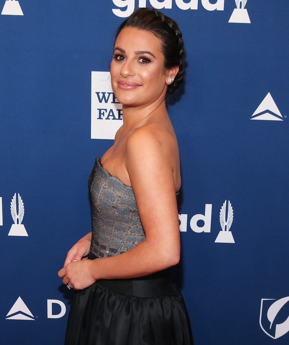 Lea Michele Loves This Face Mask So Much, She's Bringing It on Tour With Her