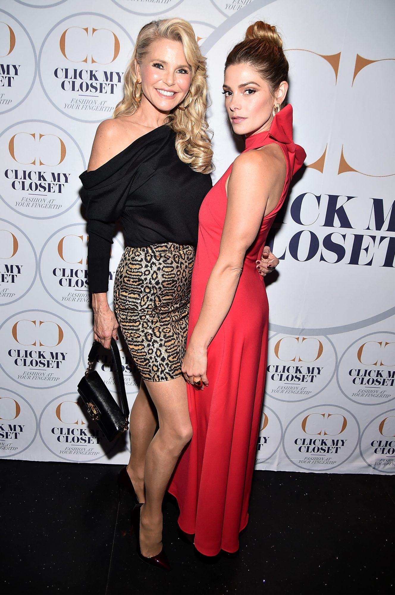 Christie Brinkley and Ashley Greene