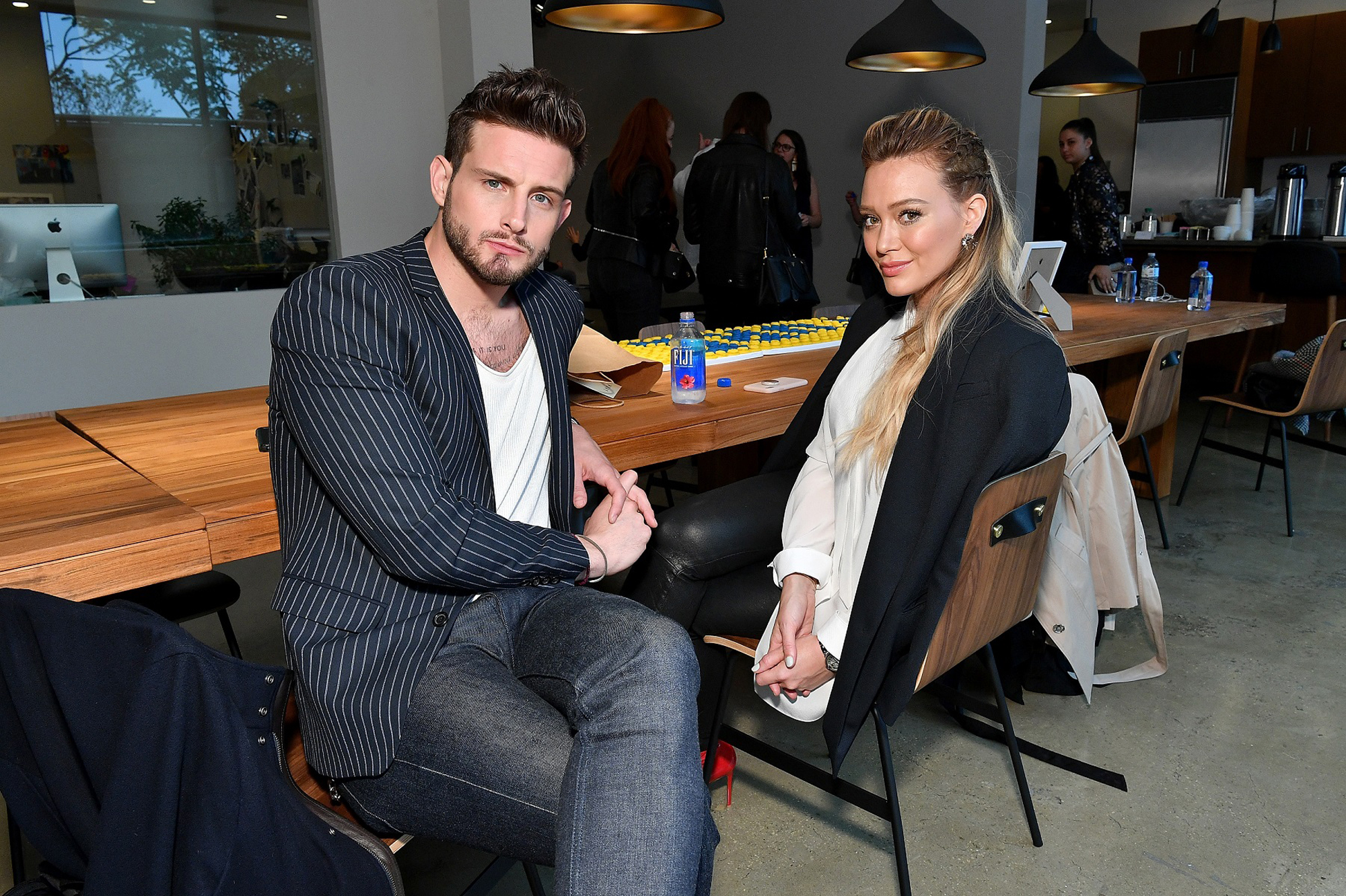 Nico Tortorella and Hilary Duff