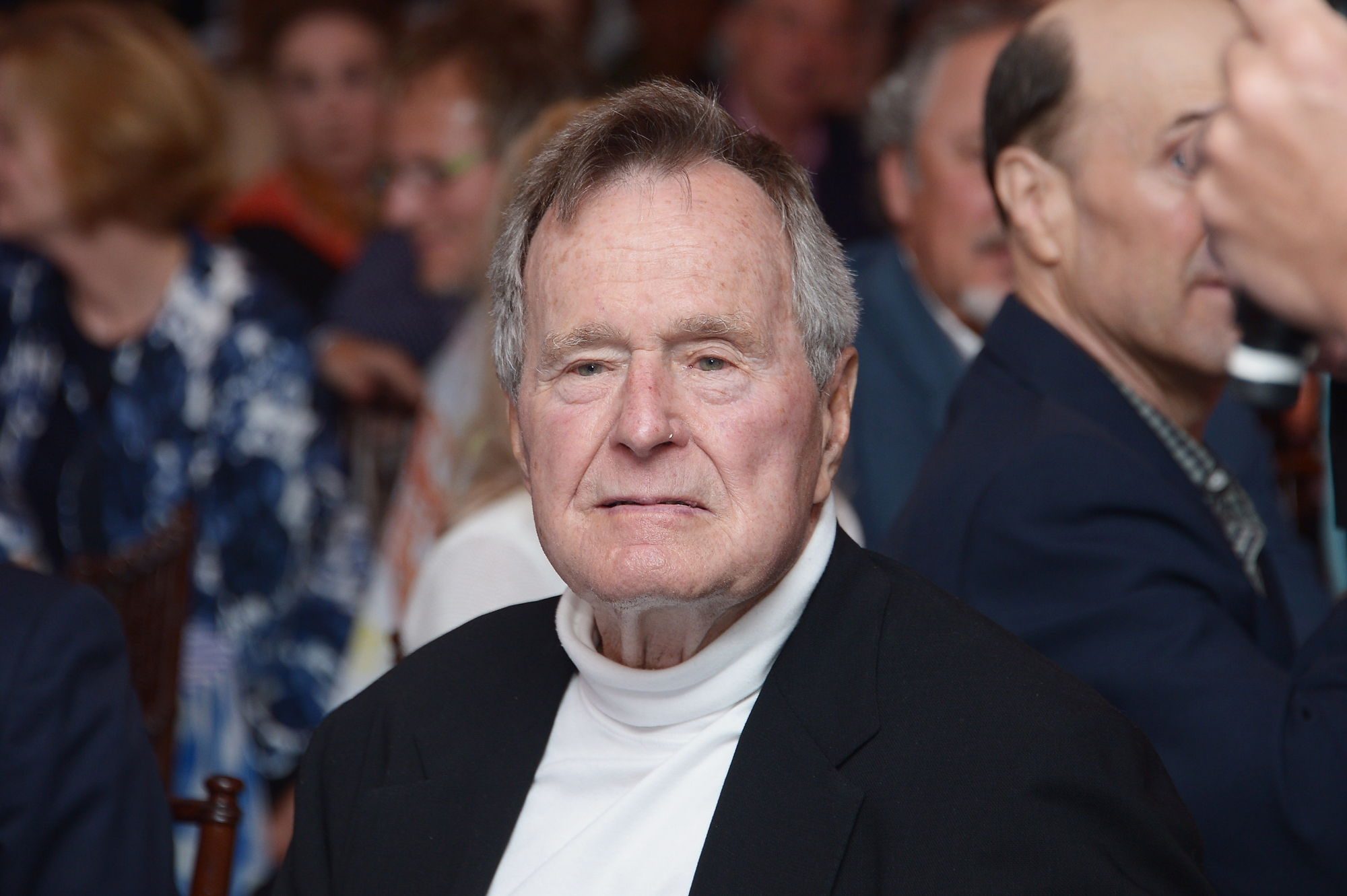 George H. W. Bush Issues a Second Apology After Accusations of Groping Another Actress