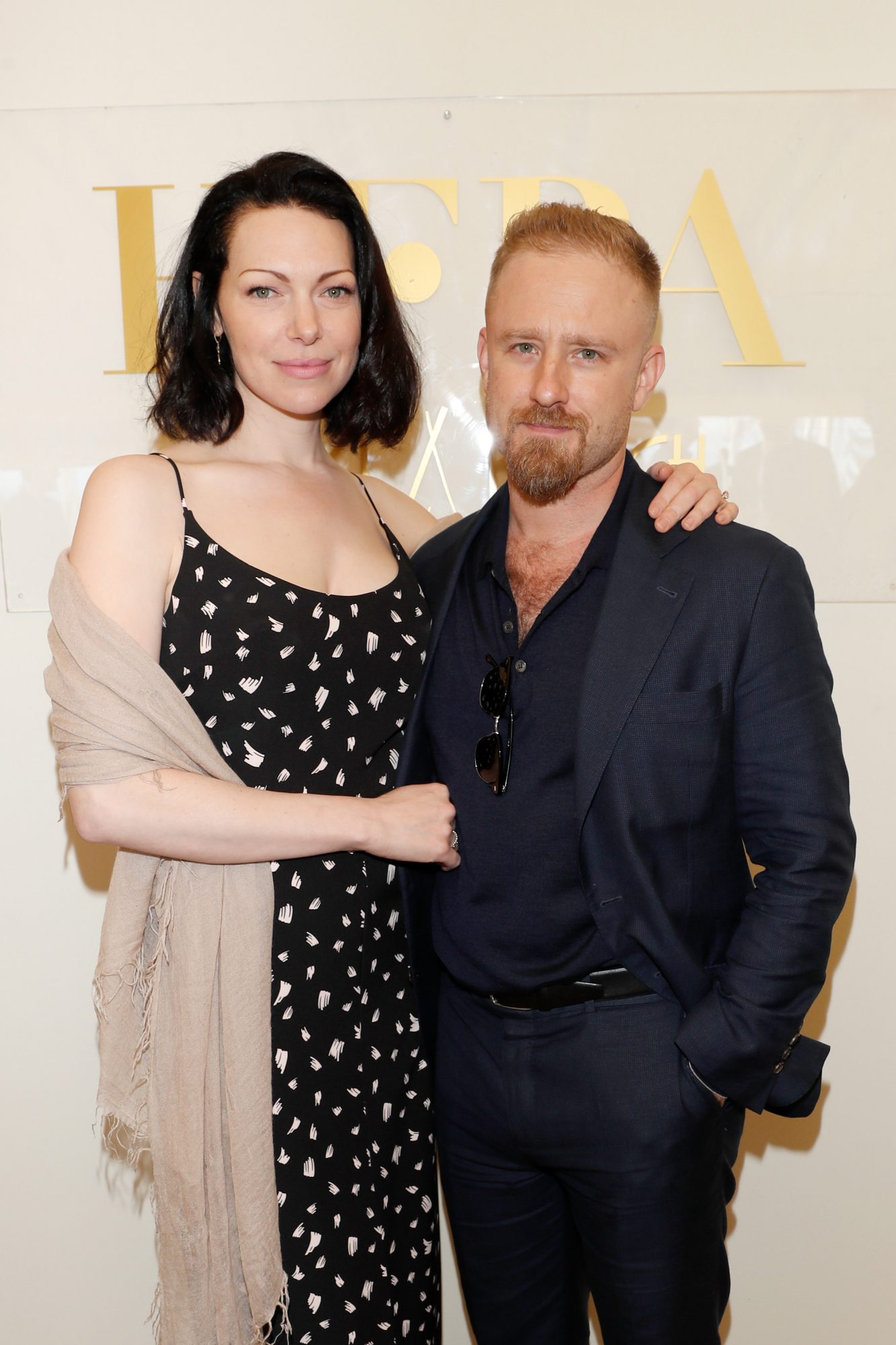 <p>Laura Prepon and Ben Foster</p>