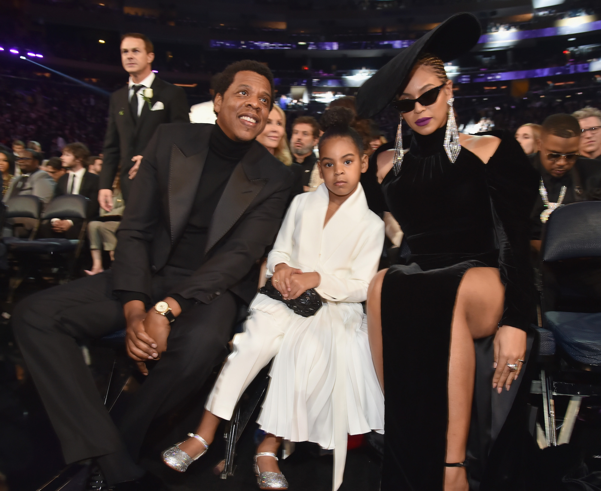 Beyonce, Jay-Z, and Blue Ivy Carter lead
