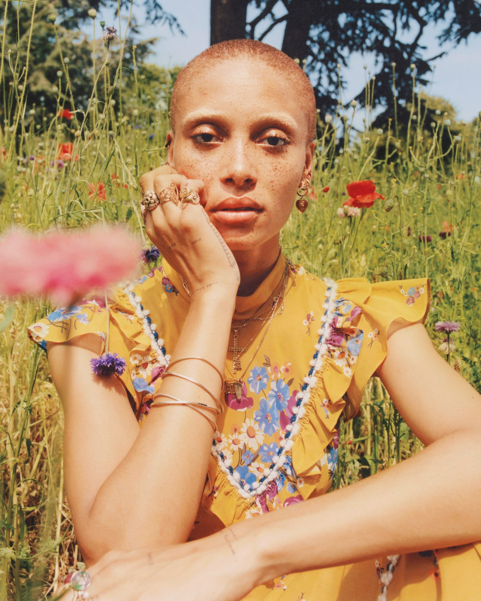 InStyle August - Adwoa Aboah - Lead
