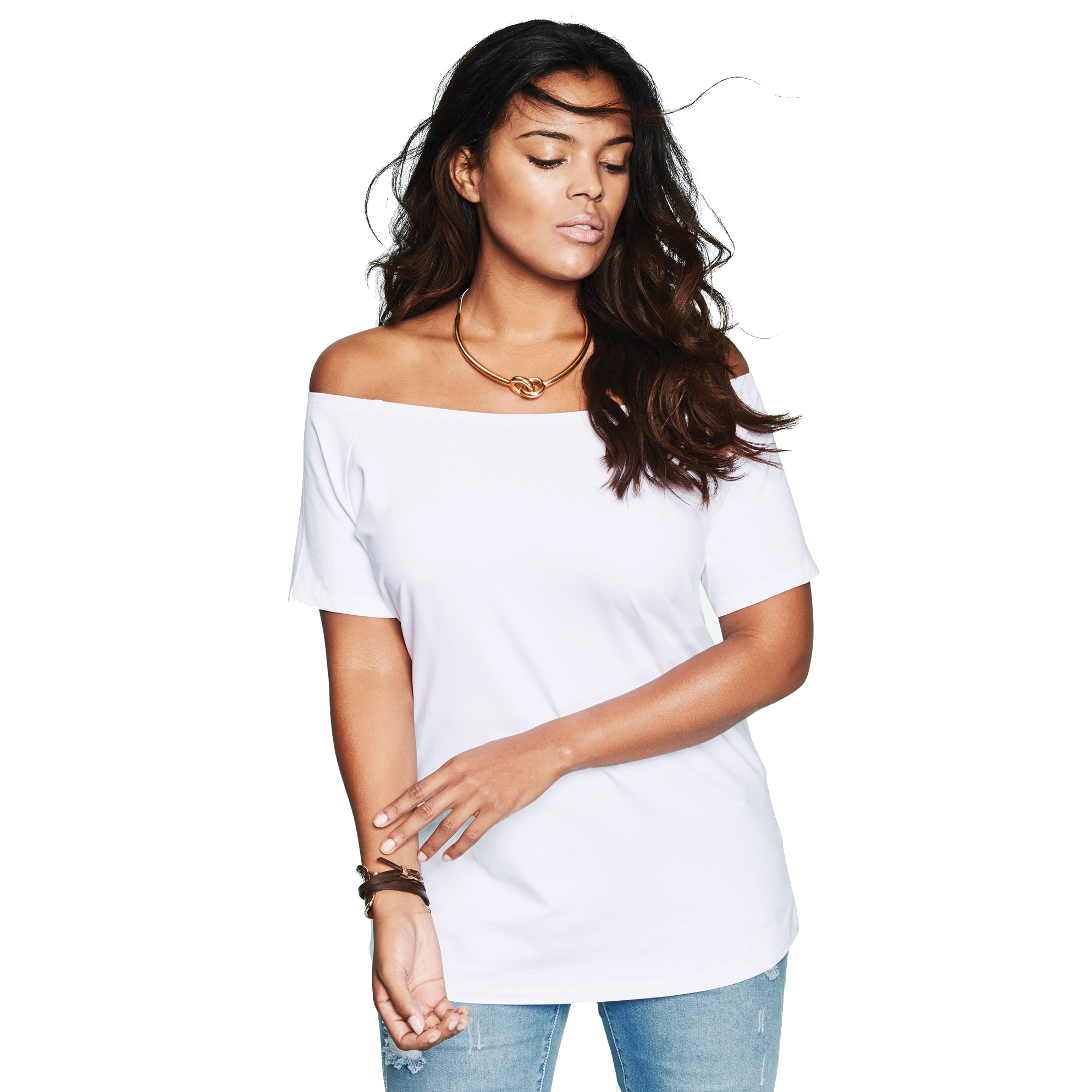 Off The Shoulder Ultimate Tee