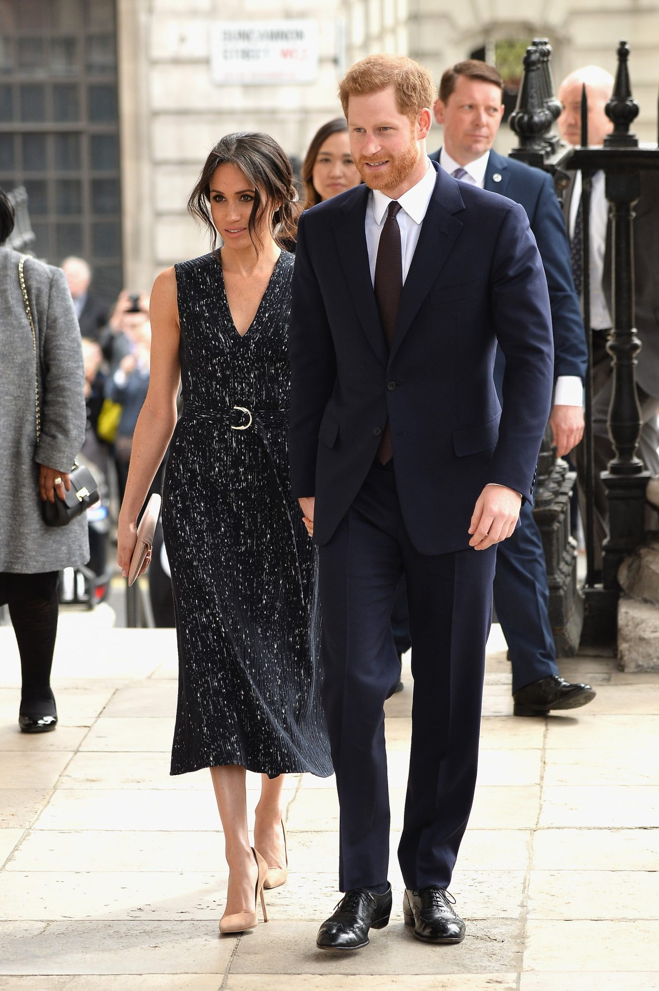 Prince Louis godparents lead