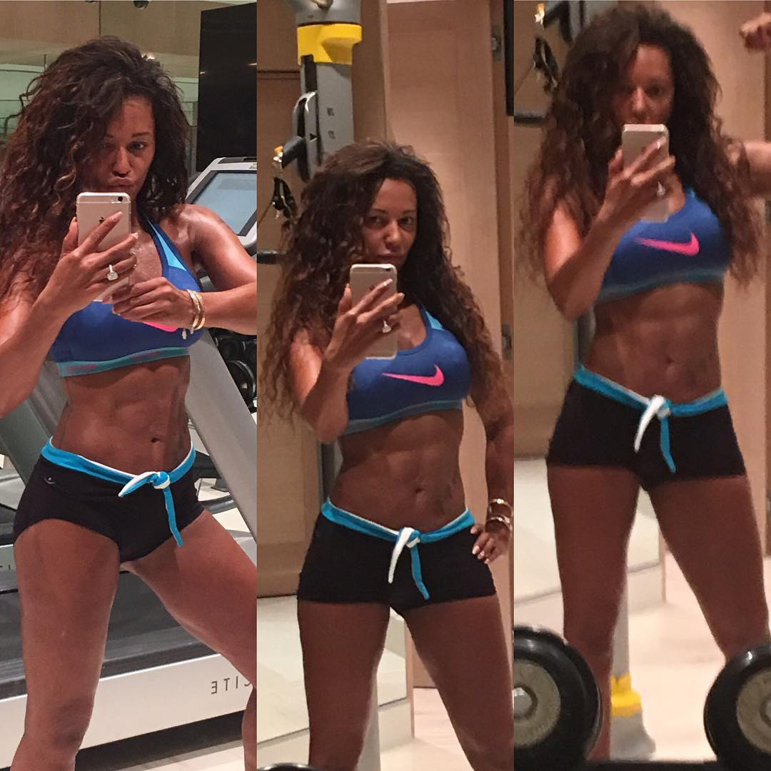 How Spice Girl Mel B Lost 30 Pounds