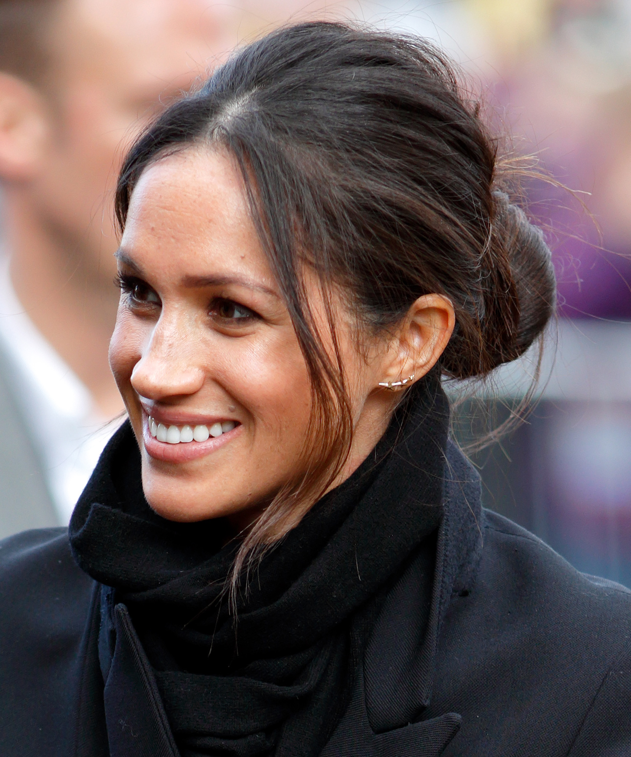 The Best Meghan Markle S Updo Hairstyles Instyle Com