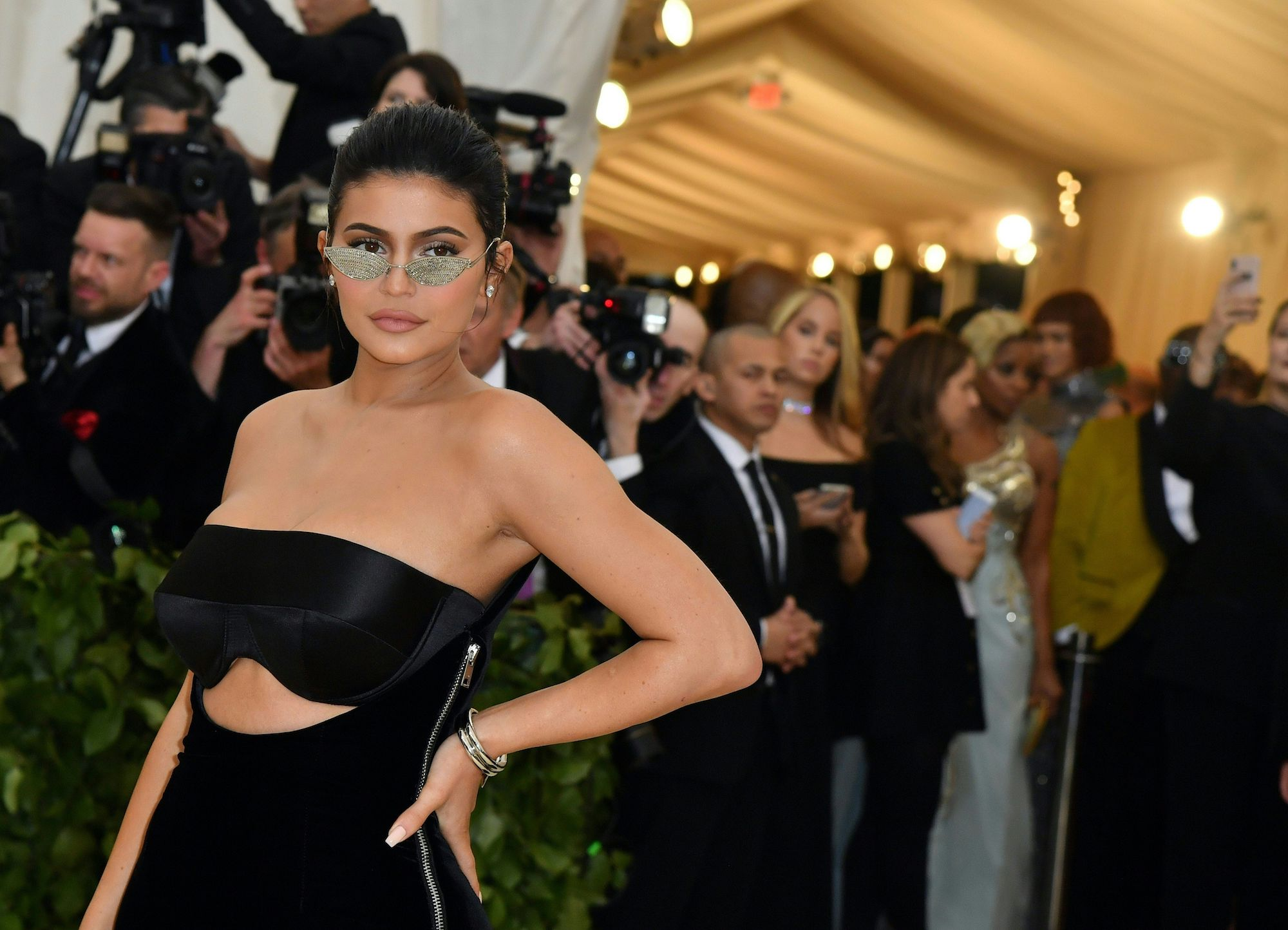 Kylie Jenner Was Giving Little Mermaid Vibes at the Met Gala