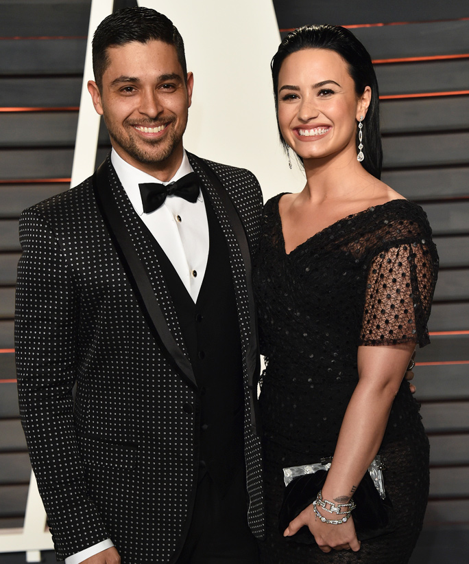 Demi Lovato Sizzles in Lace-Up Boots on Date Night with Wilmer Valderrama