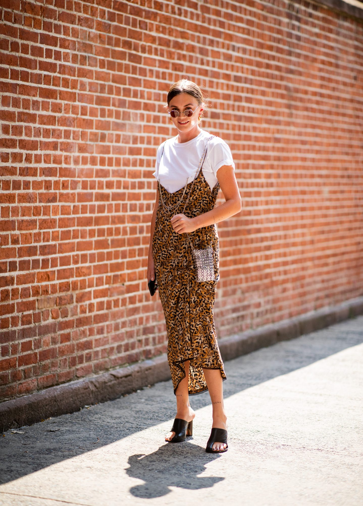 Layer Your Dress Over a Tee