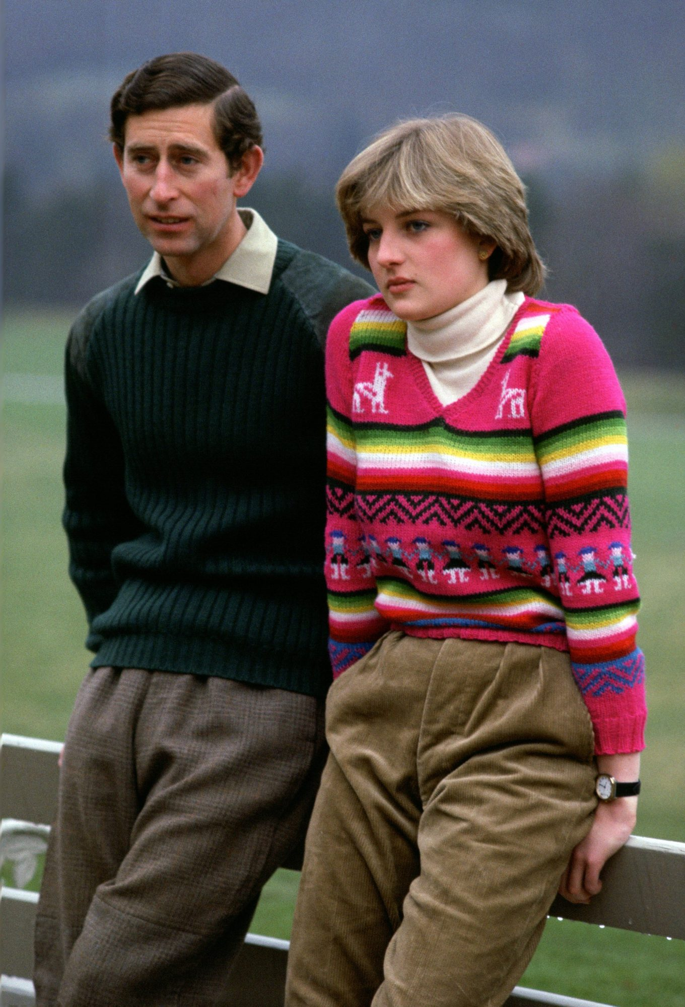 Charles and Diana lead