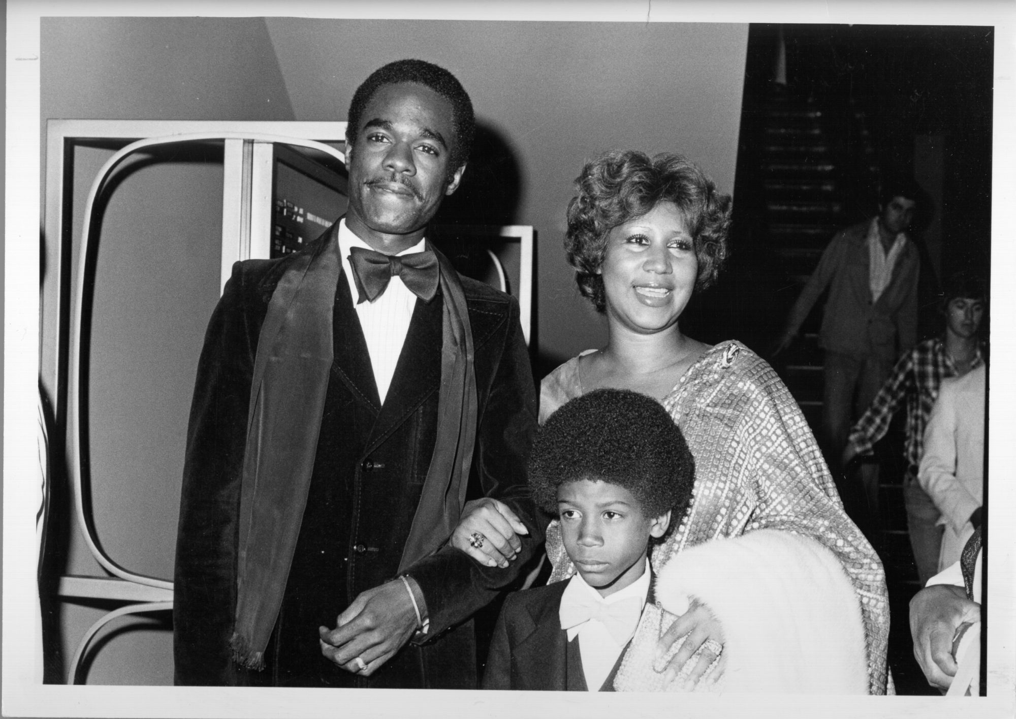 Aretha Franklin And Family