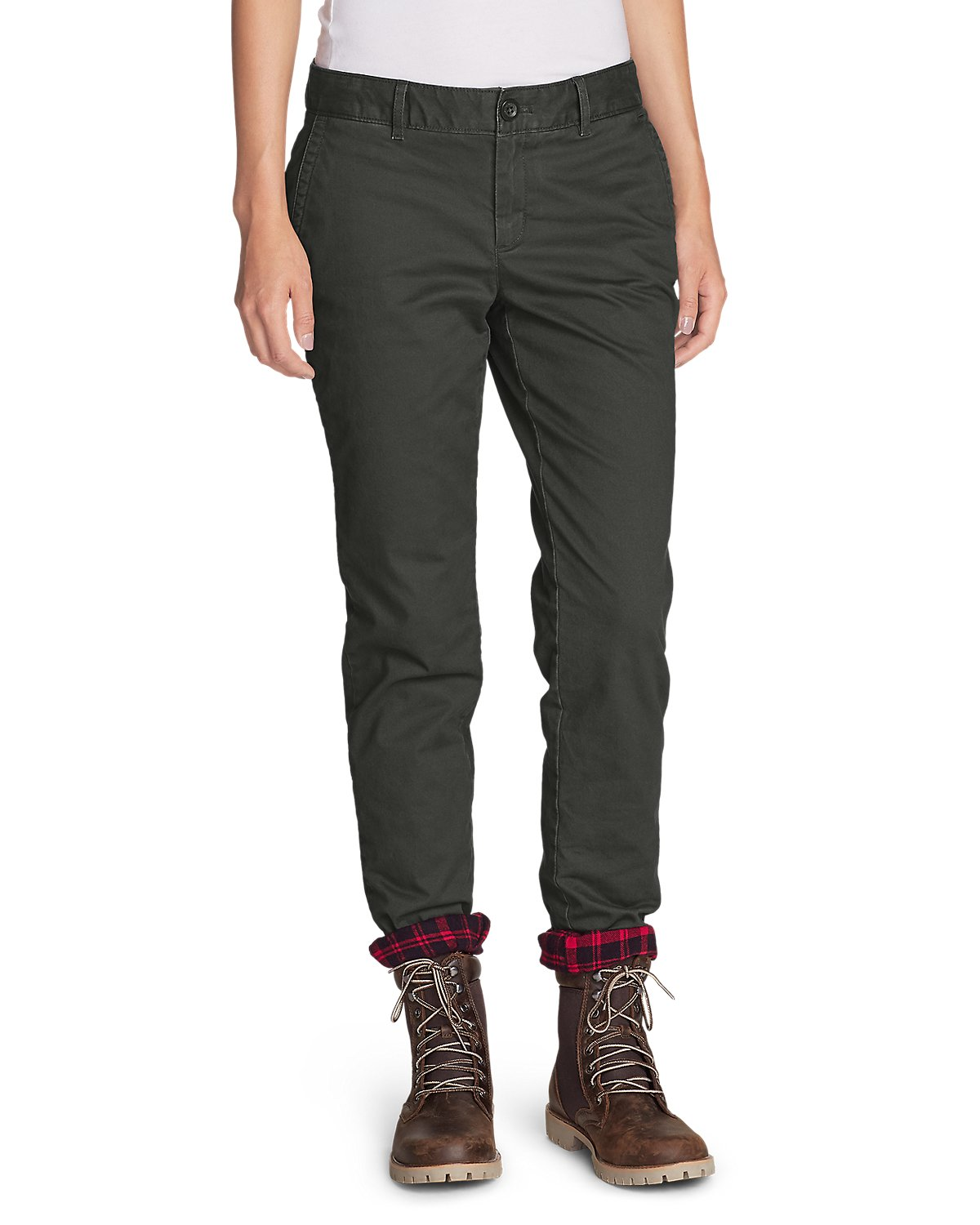 Legend Wash Flanneled-Lined Pants