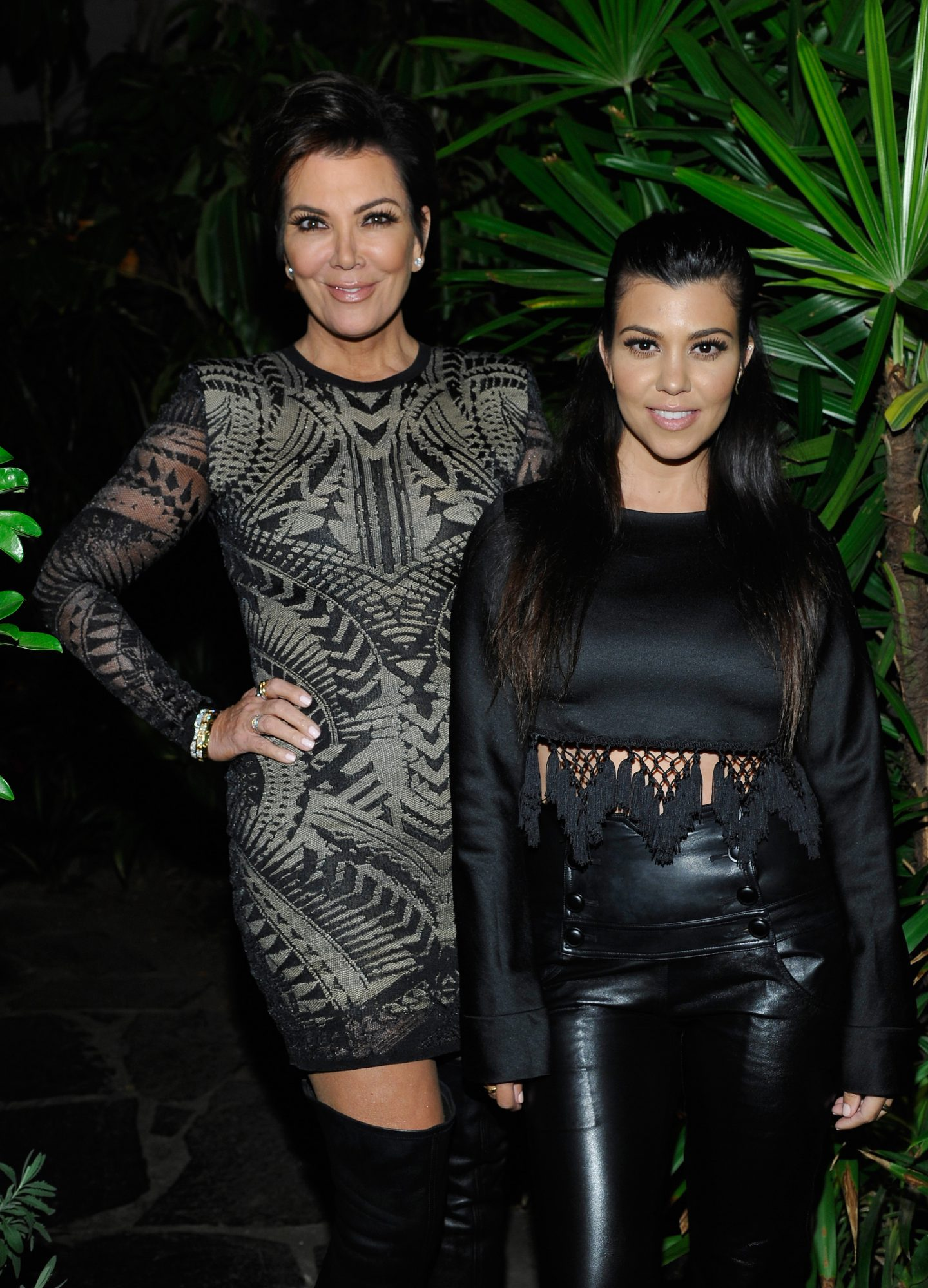 Kourtney Kardashian and Kris Jenner lead
