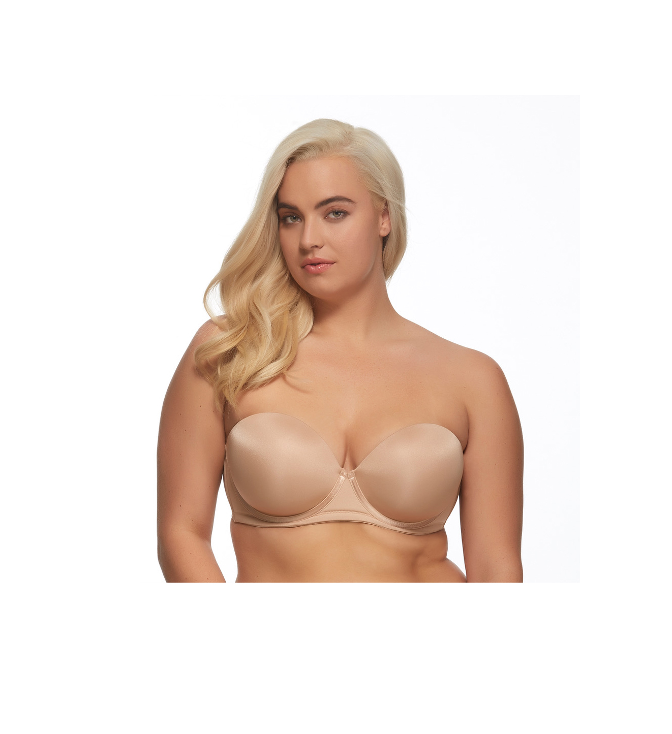 The Felina Marvelous Strapless Contour Bra is a strapless style that won't let you down