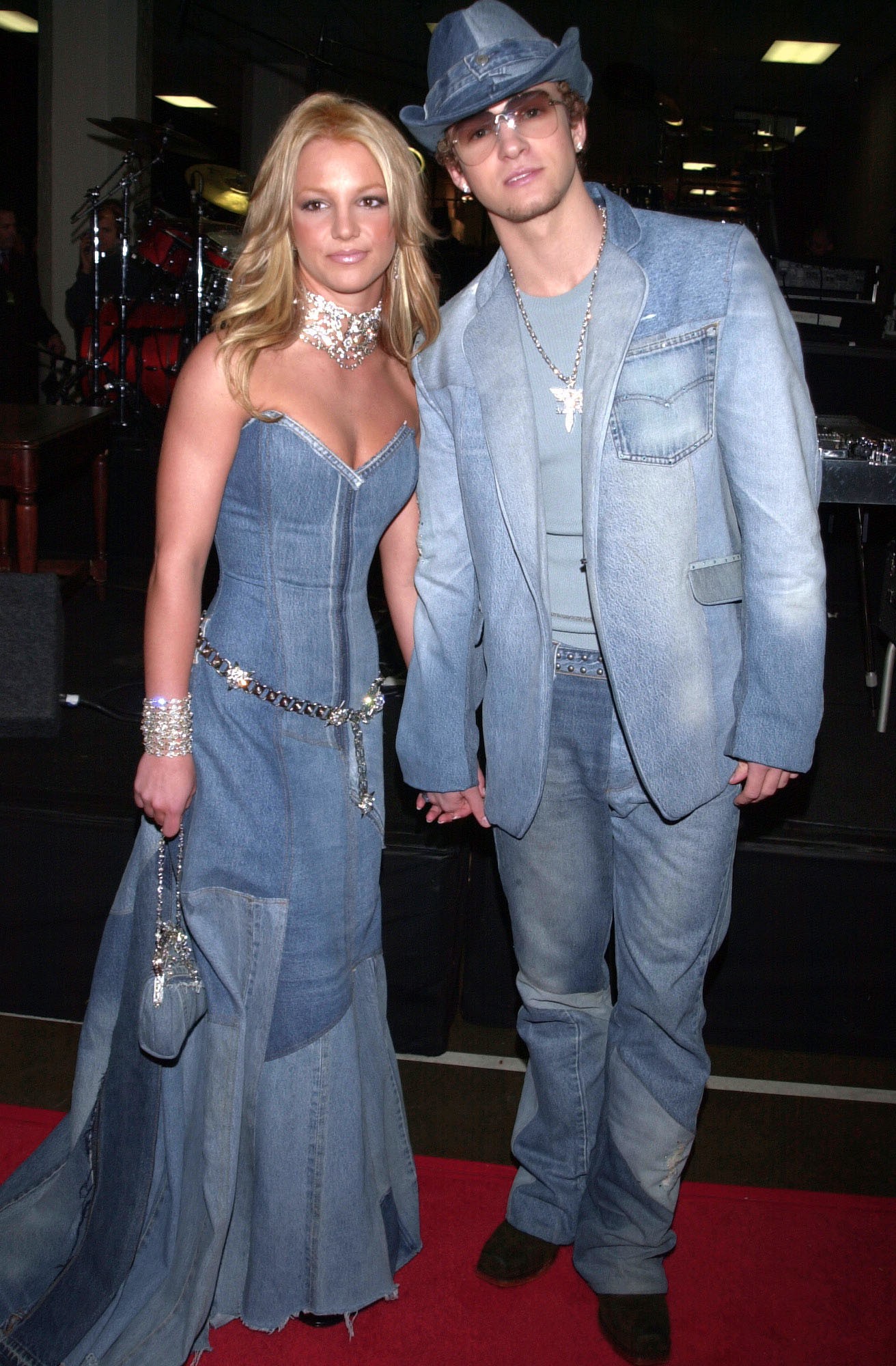 Mila Kunis and Ashton Kutcher Wore the 2018 Version of the Britney Spears and Justin Timberlake Denim Outfits