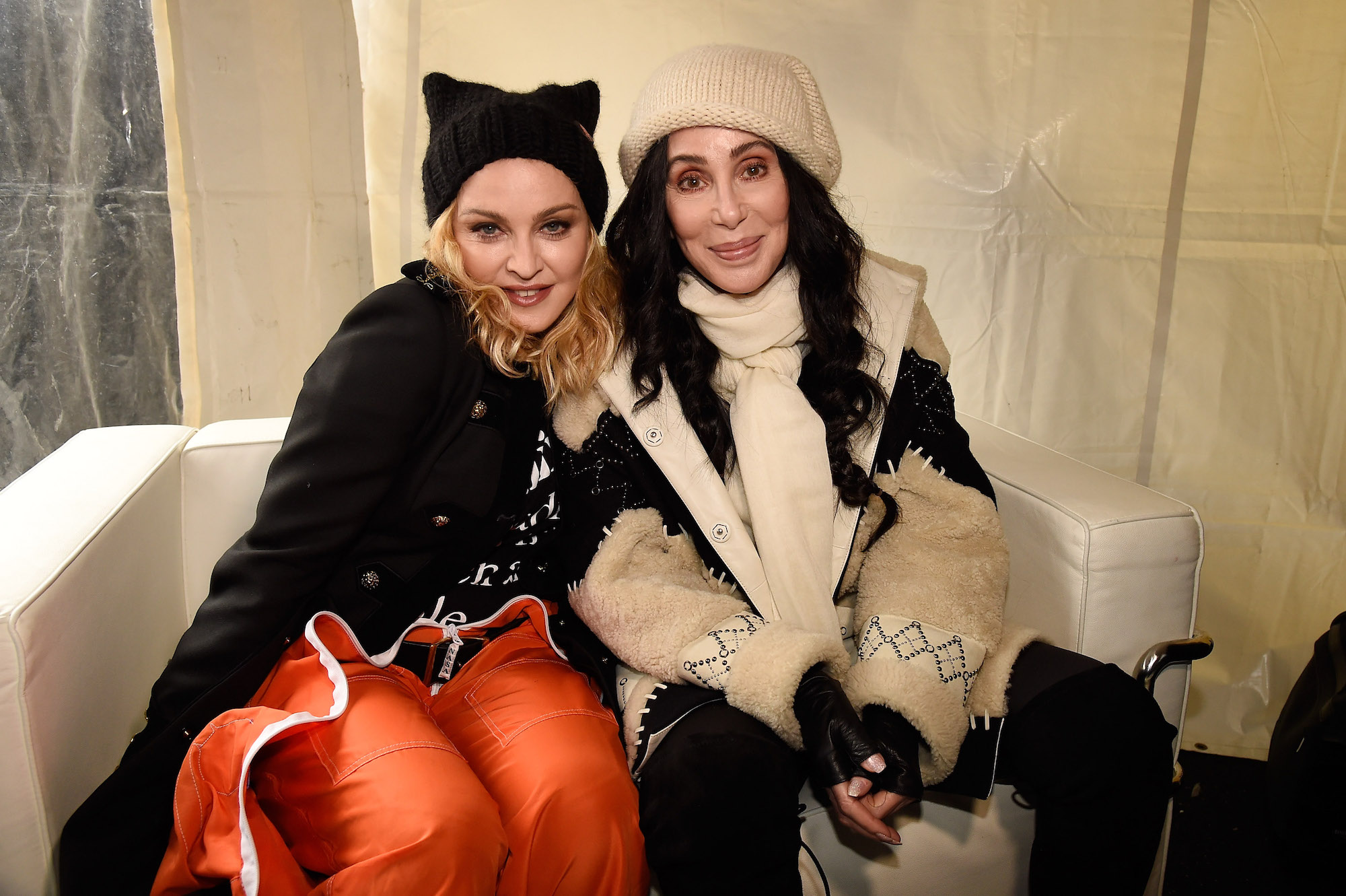 Cher and Madonna lead