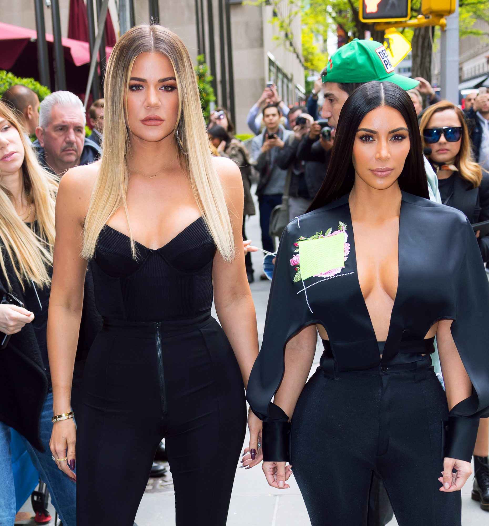 "Kim Kardashian Said Everyone Thinks Khloé Is an ""Idiot"" for Staying with Tristan Thompson on <em>WWHL</em>"