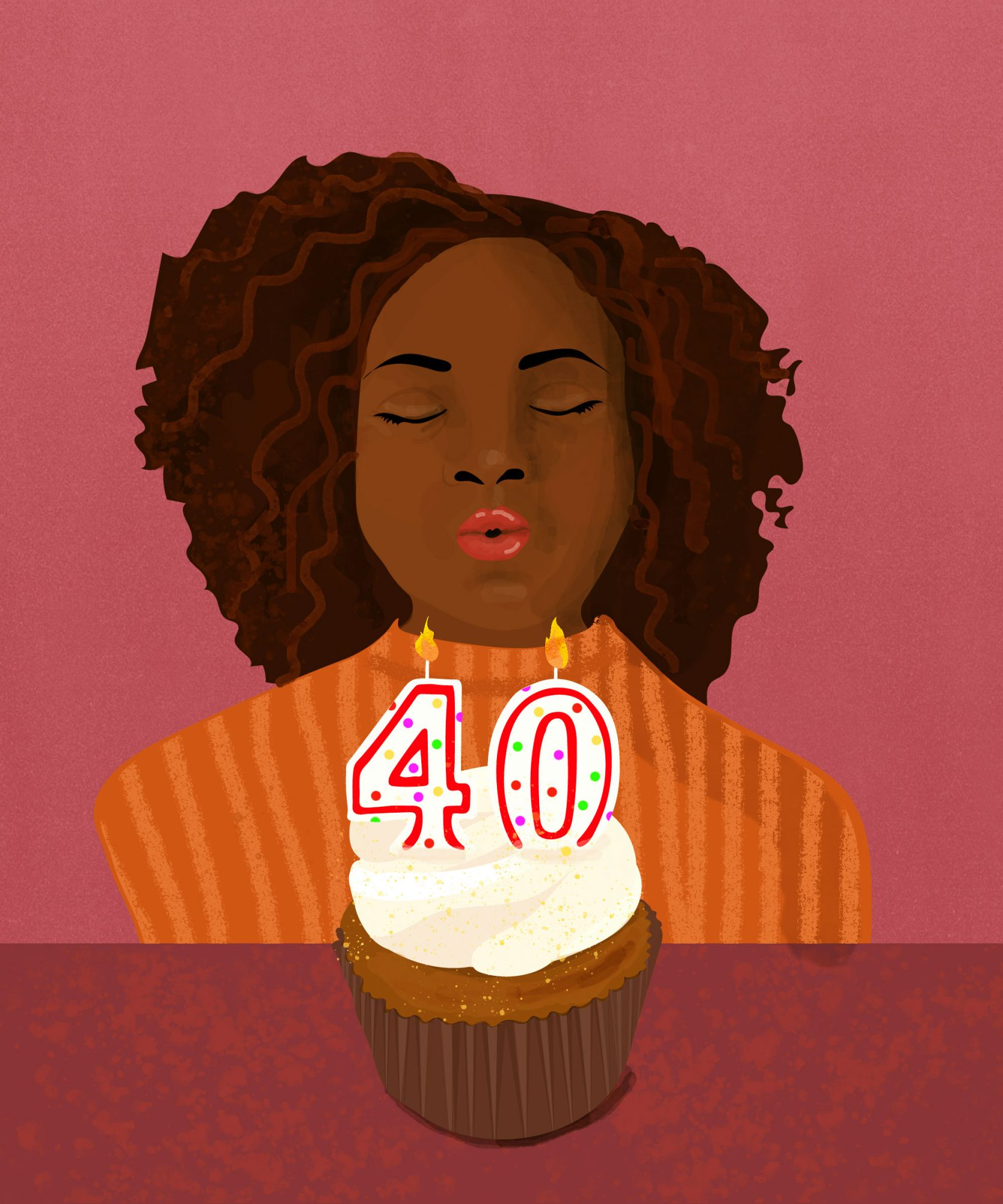 Turning 40 is Harder for Black Women