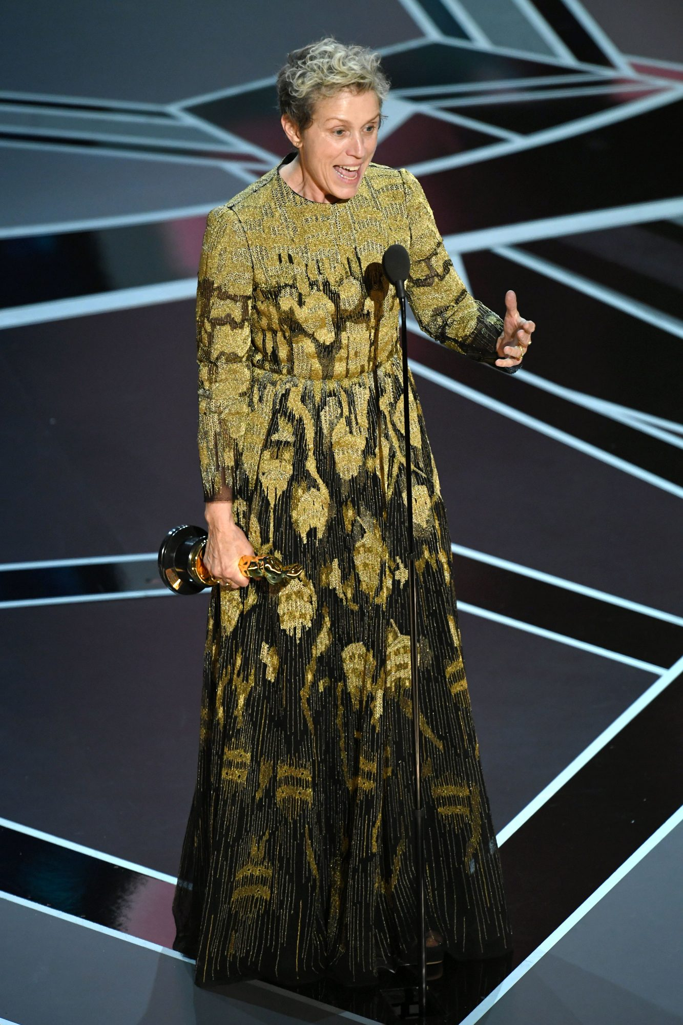 BADASS WOMEN OF THE YEAR: FRANCES MCDORMAND