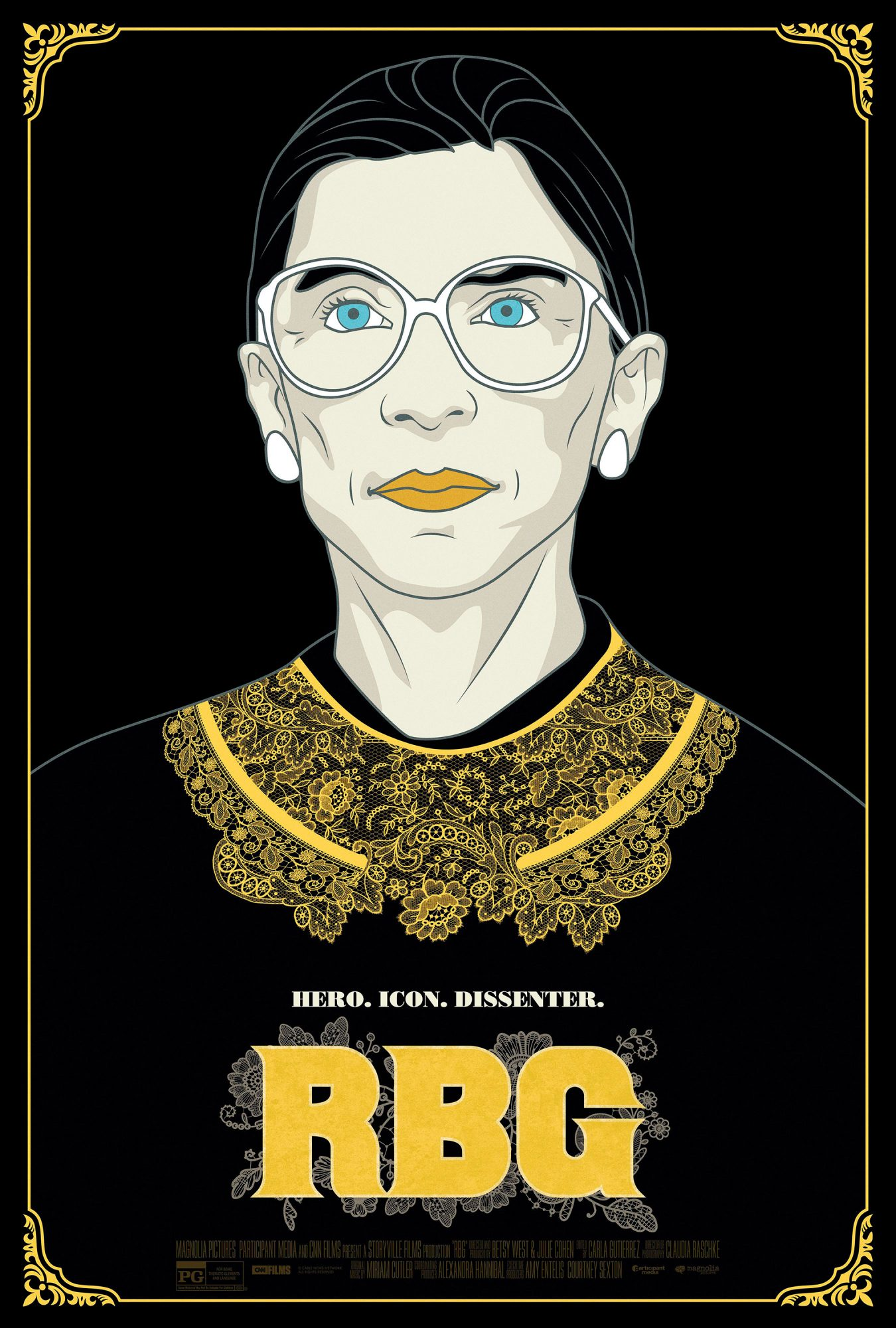 BADASS WOMEN OF THE YEAR: RUTH BADER GINSBURG