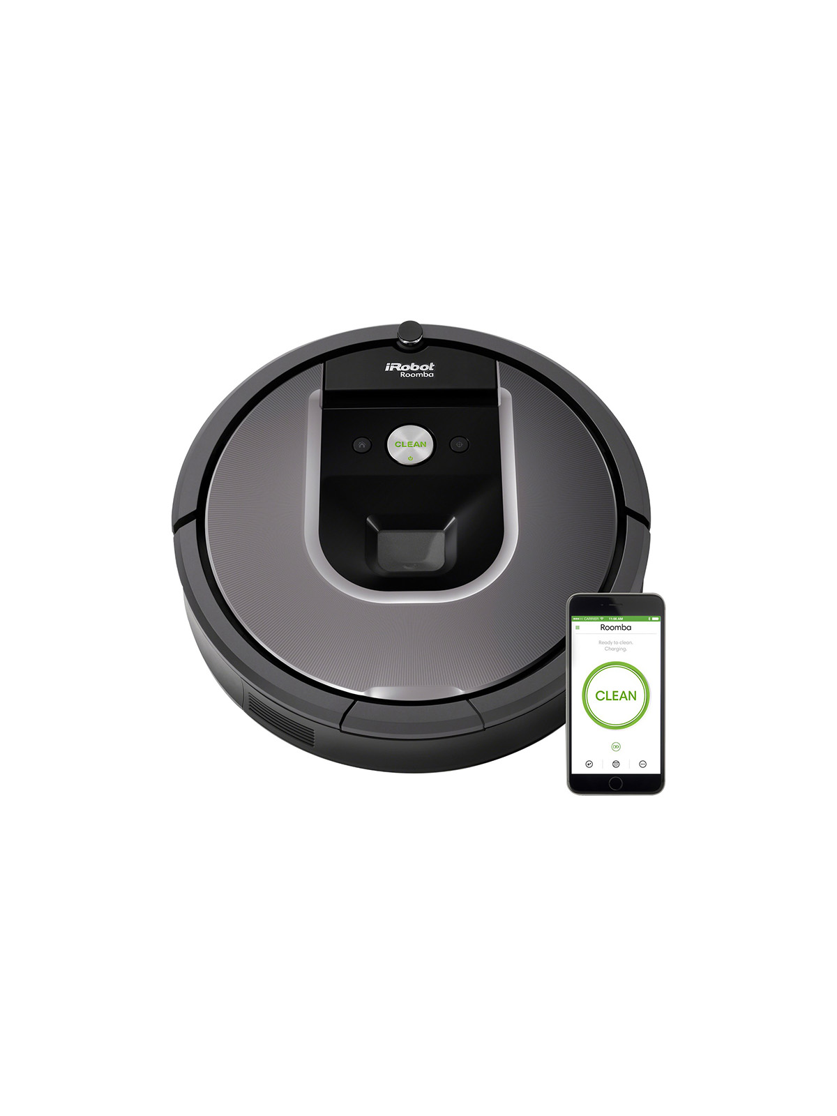 A Roomba 960 Robotic Vacuum to Do Your Chores