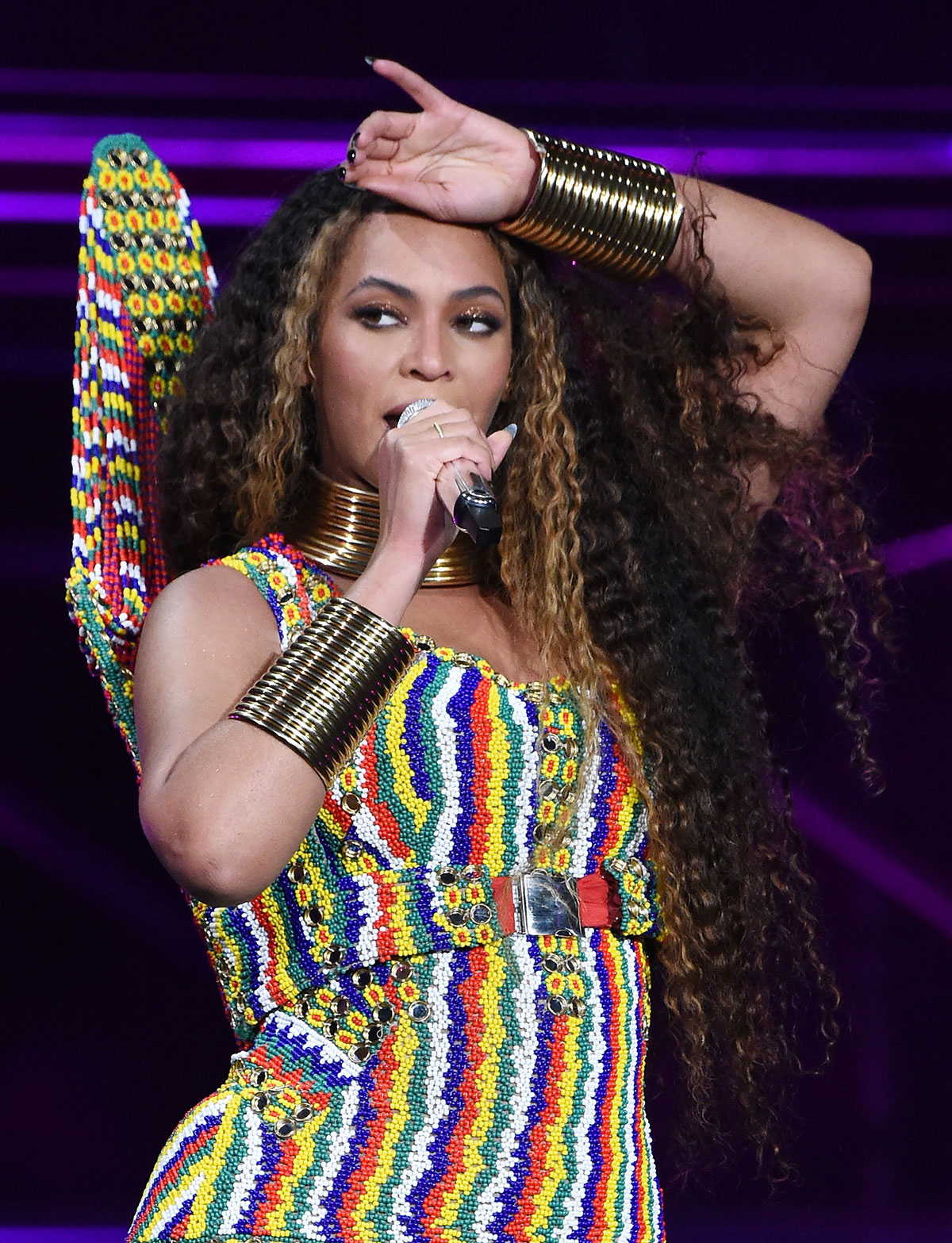 Beyonc 233 S Dark Brown Hair Color At The Global Citizen
