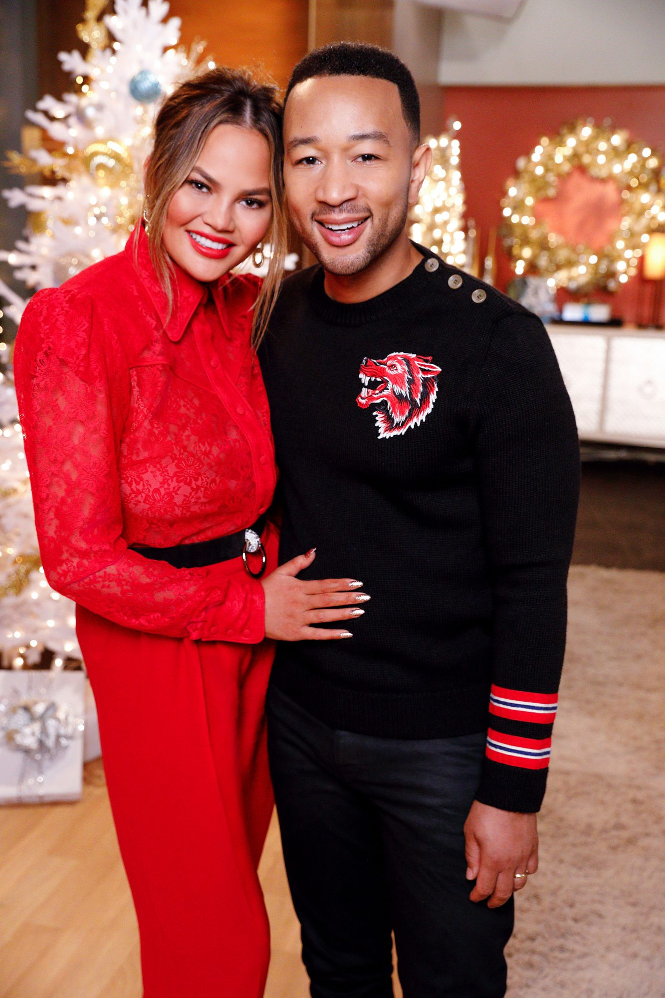 "Chrissy Teigen's Go-To Holiday Gifts, From Cash to Tom Ford ""Man Bags"""