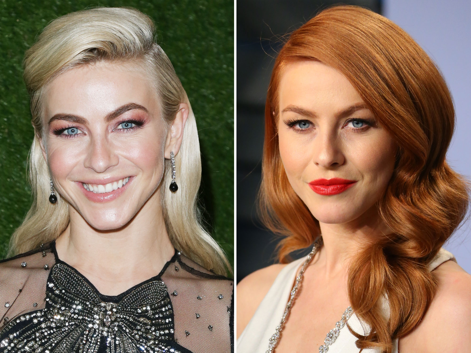 Julianne Hough's Copper Red Hair