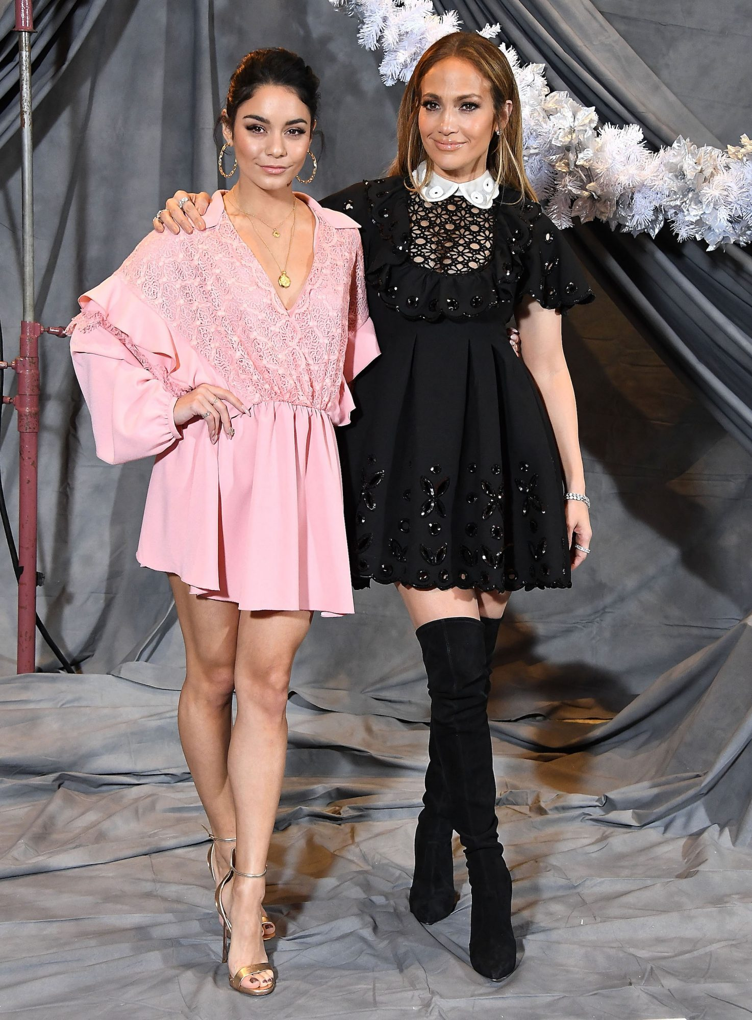 Jennifer Lopez and Vanessa Hudgens embed