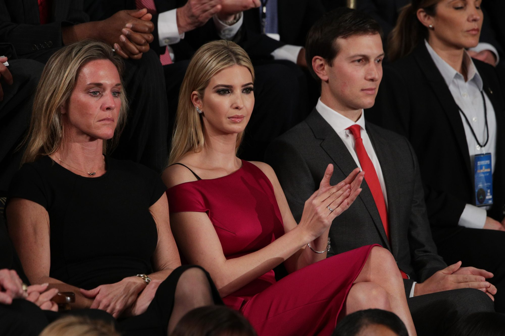 Ivanka Trump and Husband Jared Kushner Saw Vice — About Dick Cheney — but Left Early: Source