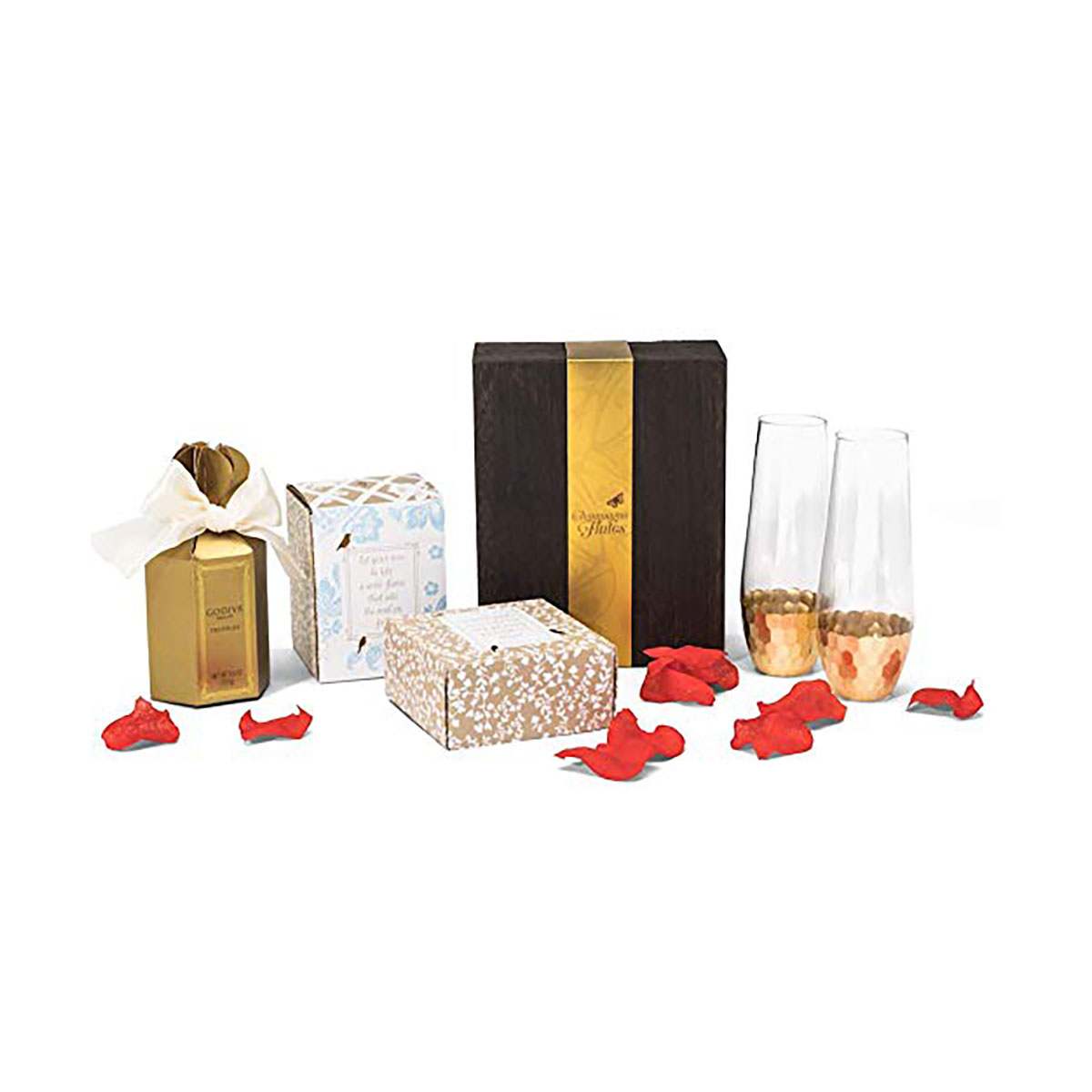 Godiva Chocolate Truffles and Champagne