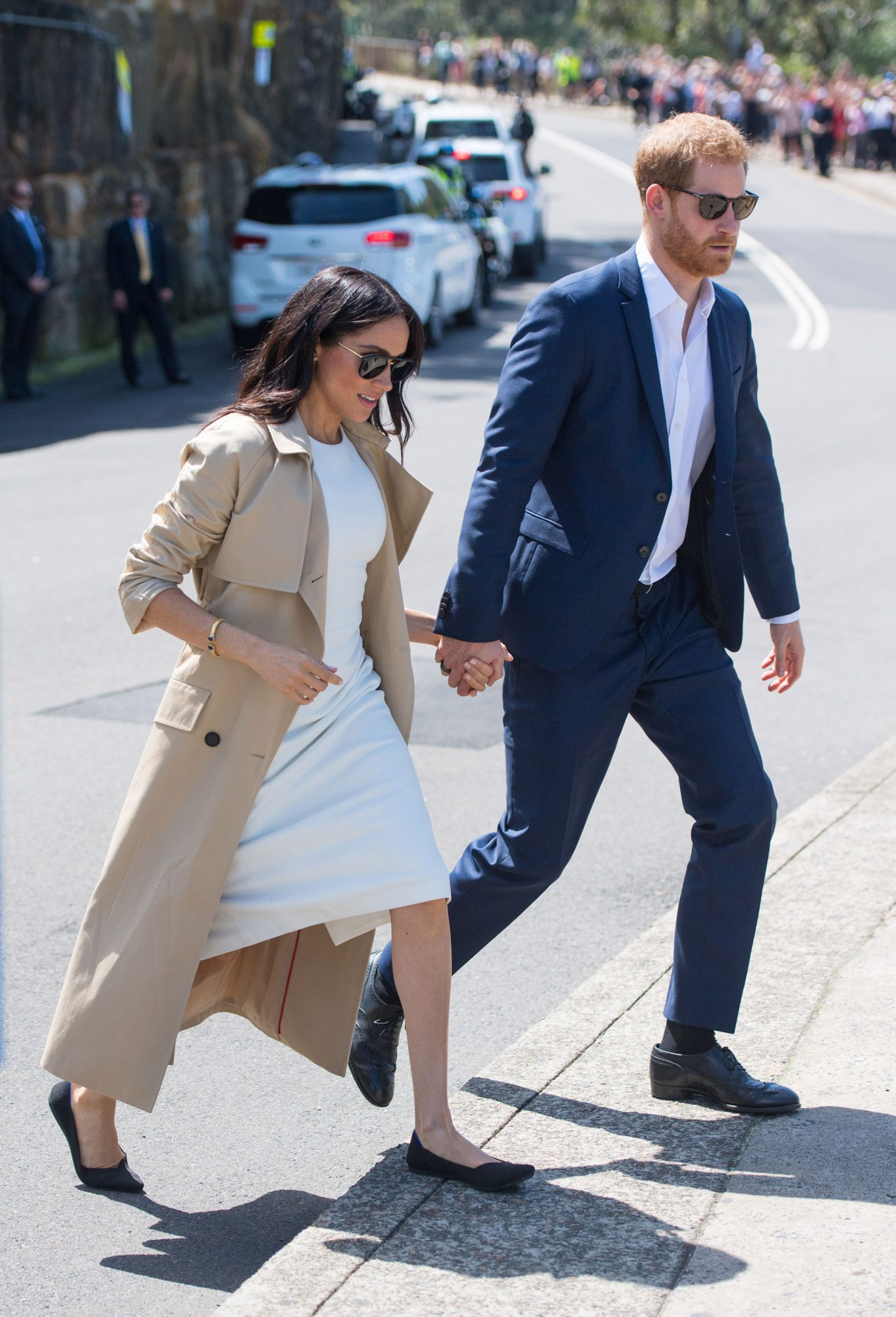 Prince Harry and Meghan Markle at Taronga Zoo