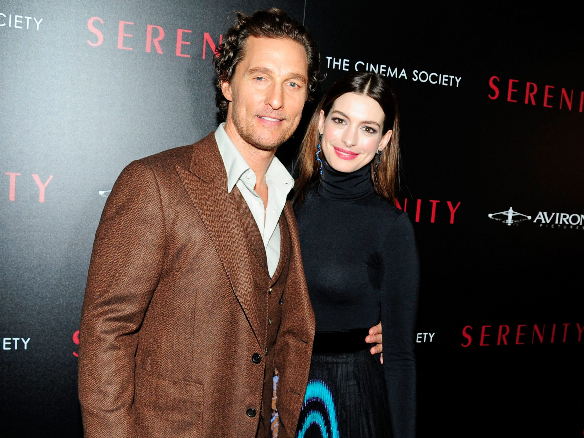 Anne Hathaway on Exactly What it's Like to Work With Matthew McConaughey