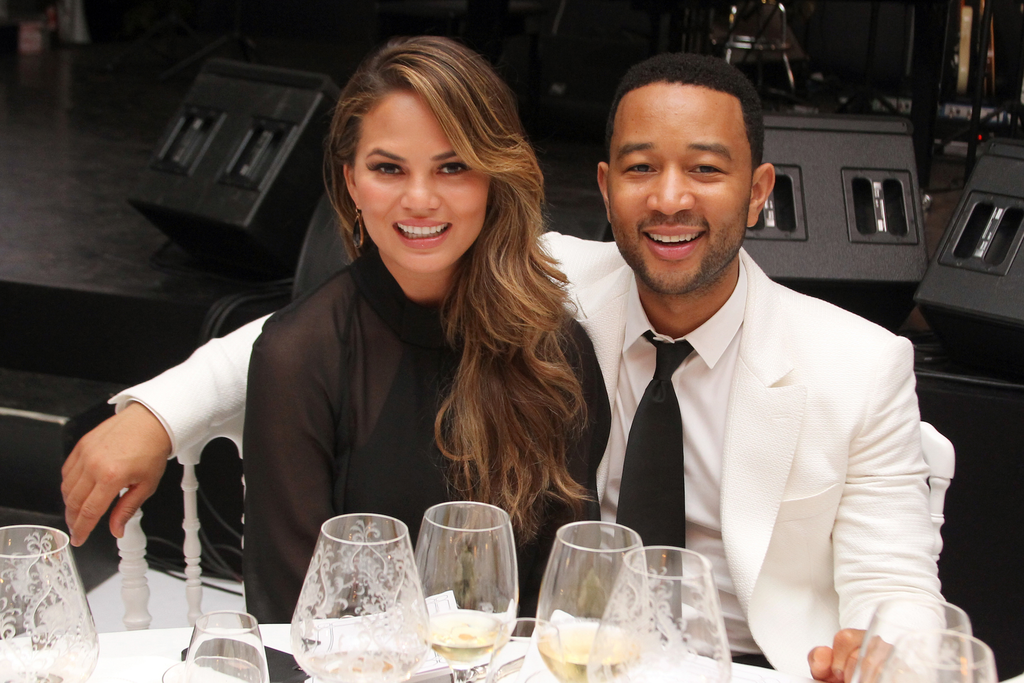 We Asked John Legend Whether Luna Likes His or Chrissy Teigen's Cooking Better