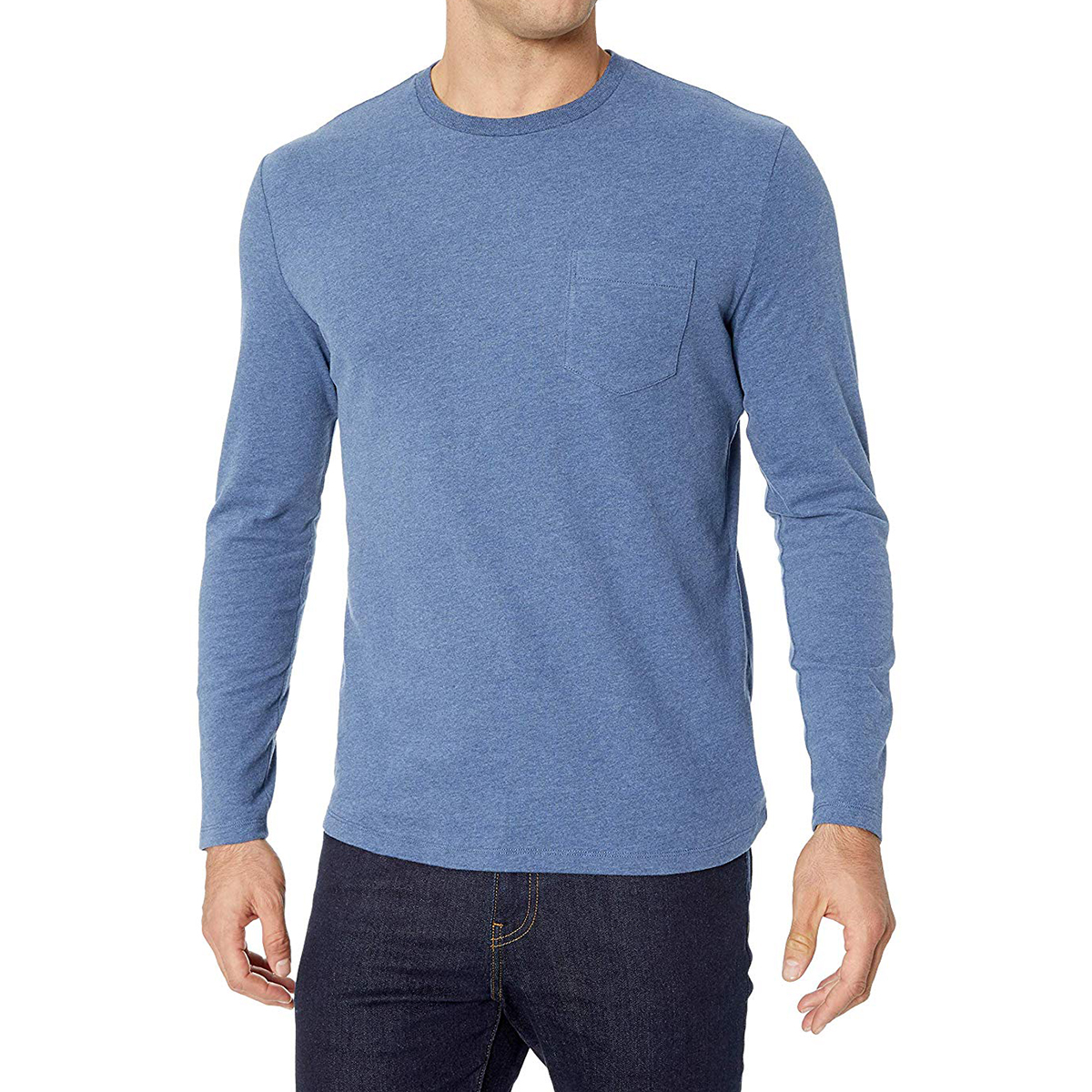 The Long Sleeve T-Shirt: Amazon Essentials Men's Slim-Fit Long-Sleeve T-Shirt