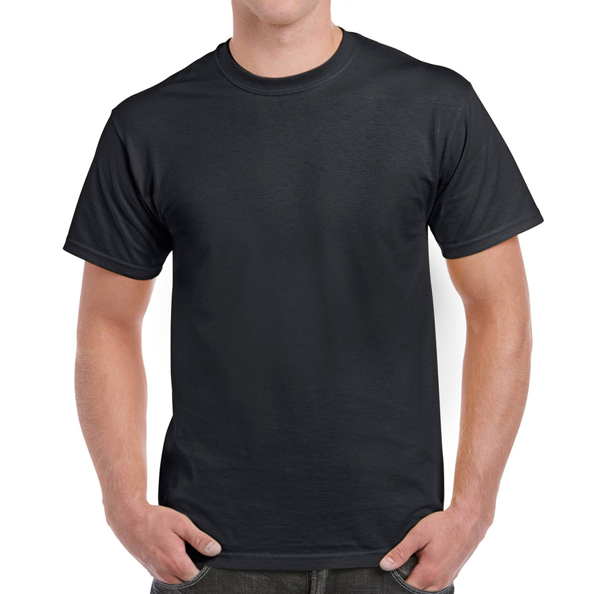 The 100% Cotton T-Shirt: Gildan Men's Ultra Cotton Adult T-Shirt