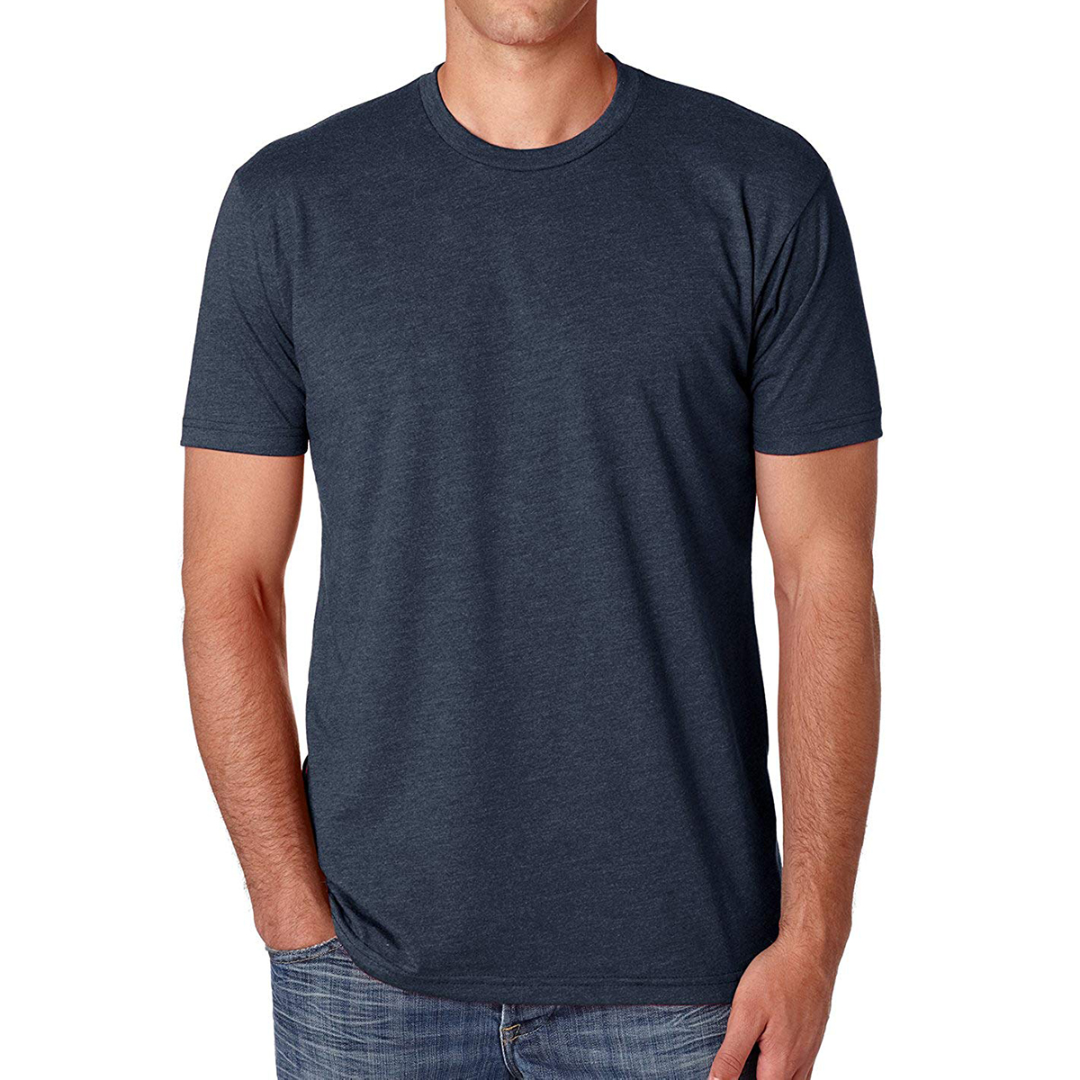 The Super Plain T-Shirt: Next Level Men's T-Shirt