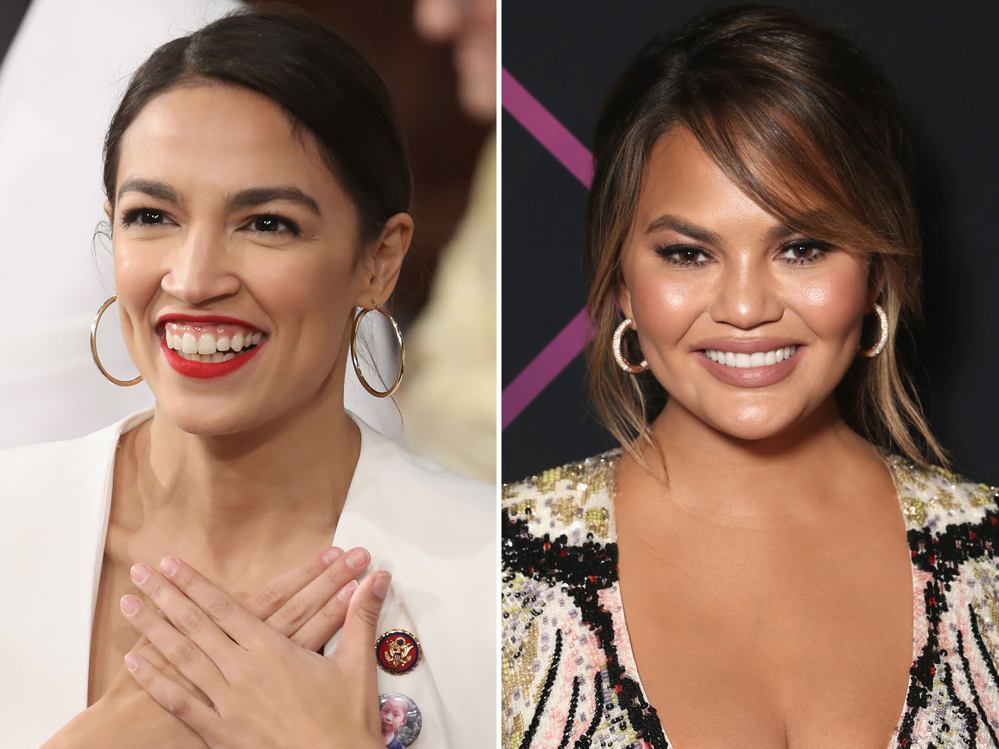 We Have Decided That Chrissy Teigen and Alexandria Ocasio-Cortez Are Best Friends Now
