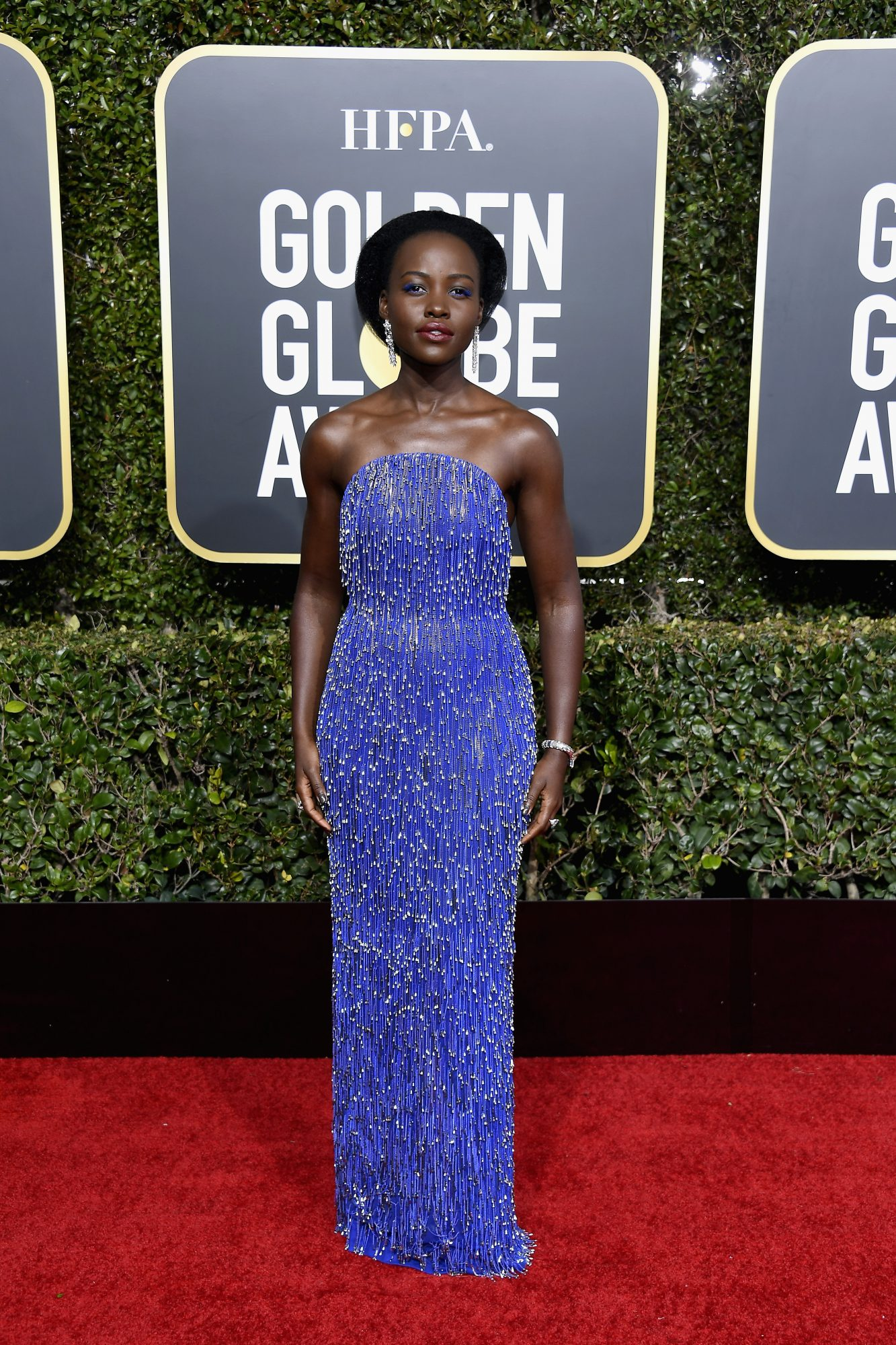 Lupita Nyong'o Won the Oscars Red Carpet without Even Walking It