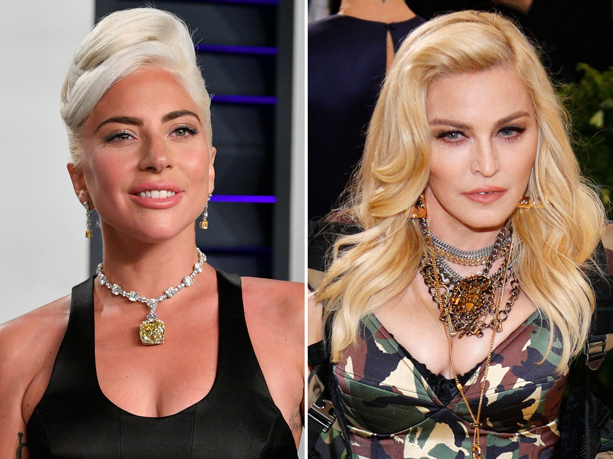 Madonna And Lady Gaga Reunite Instyle Com