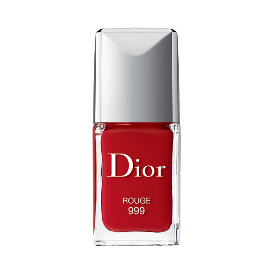 Dior Vernis Gel Shine & Long Wear Nail Lacquer in 999 Red