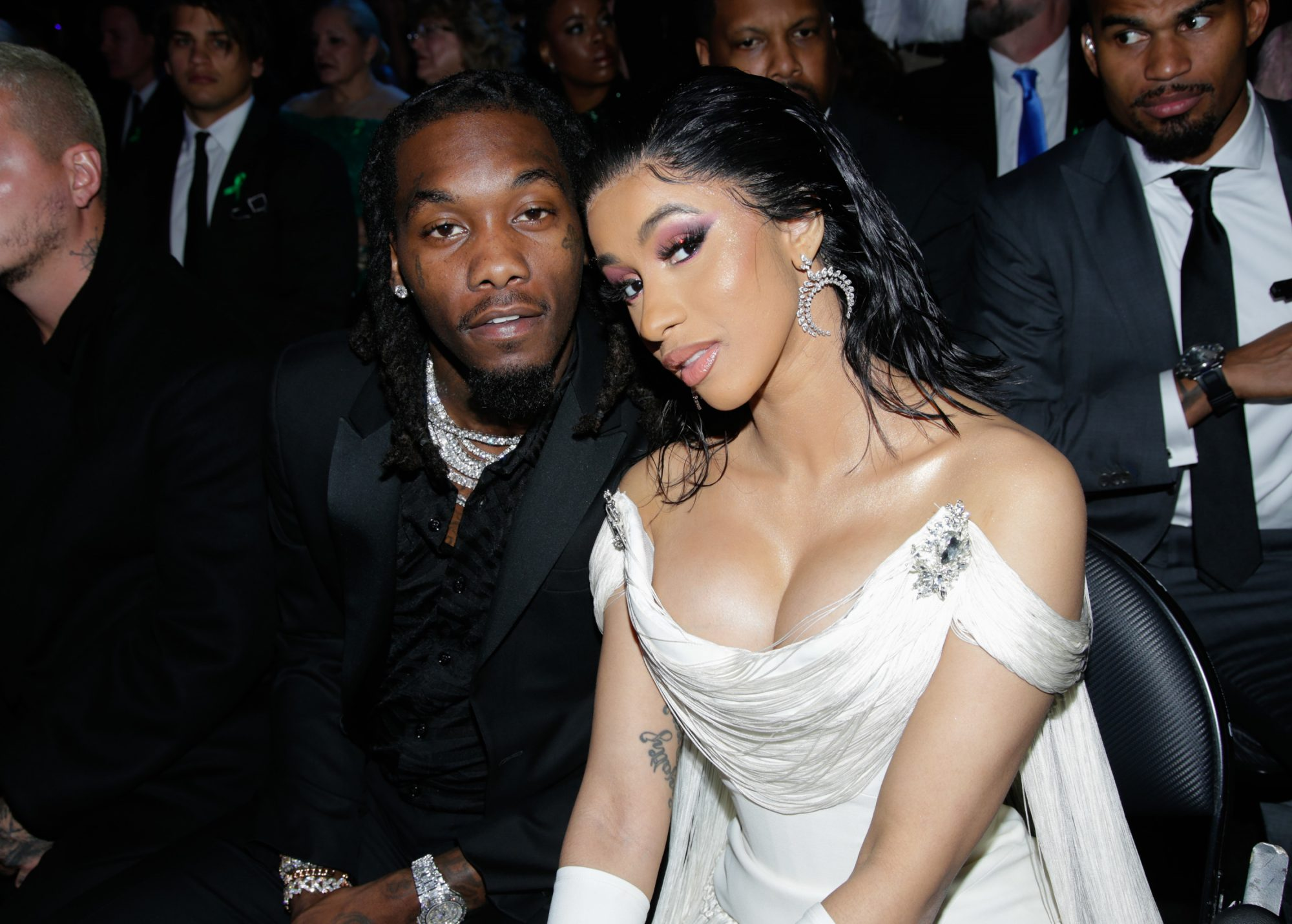 Offset Cardi B The 61st Annual Grammy Awards