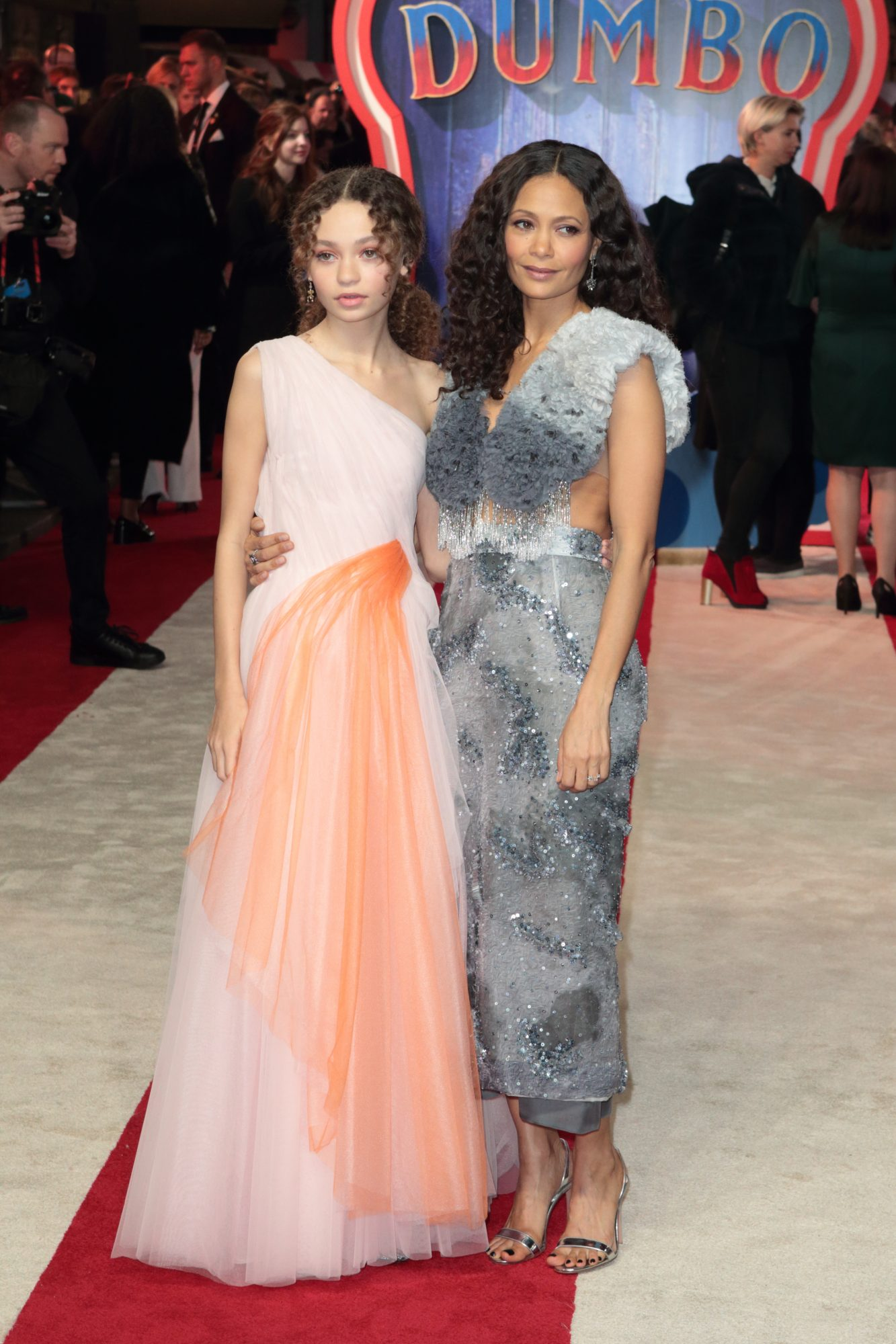 Thandie Newton Brought Her Look-Alike Daughter to the Dumbo Premiere