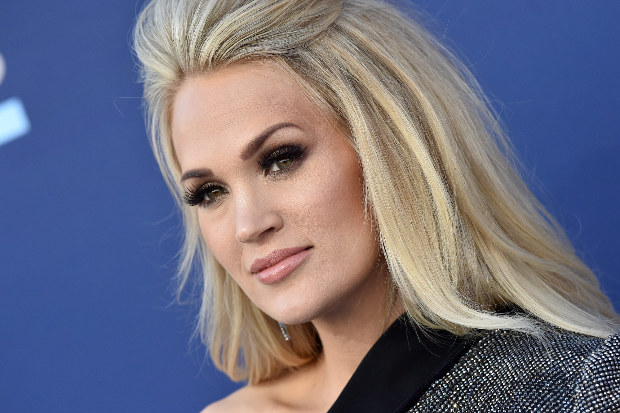 Carrie Underwood Marks Her First Red Carpet Appearance Post-Baby with a Double Leg Reveal
