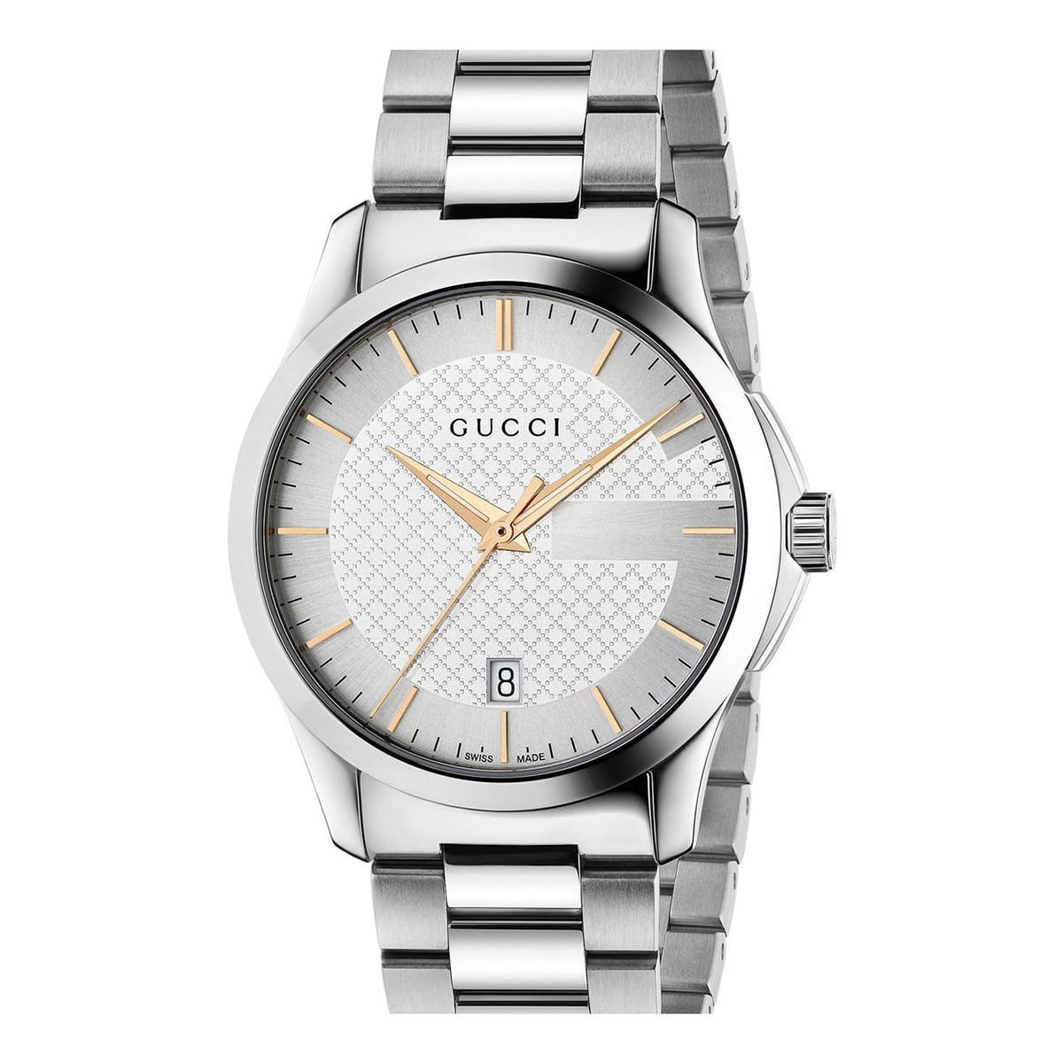 Best Stainless Steel Option: Gucci G Timeless Bracelet Watch