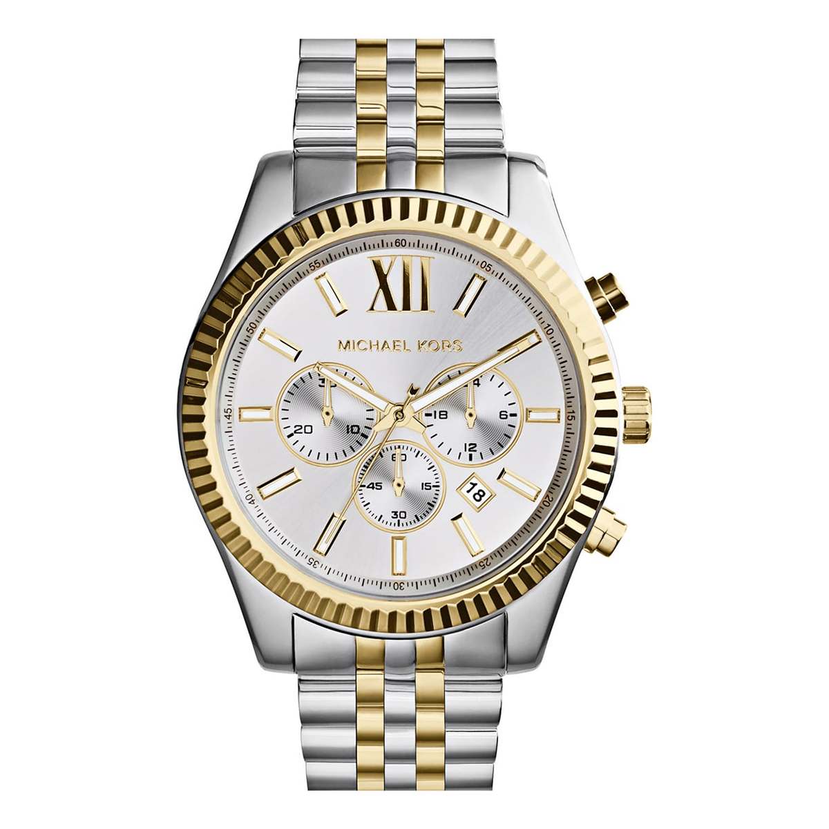 Michael Kors Large Lexington Chronograph Watch